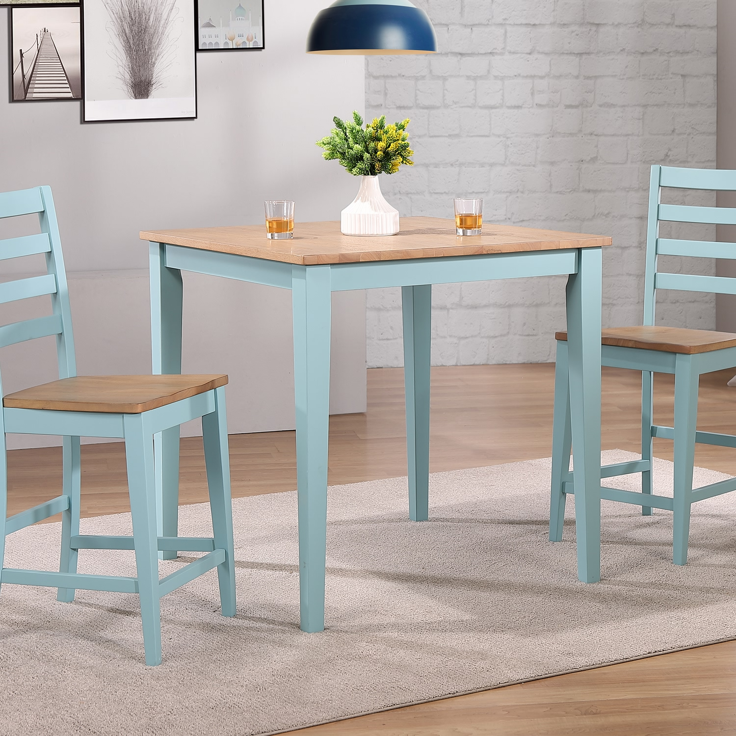 Palm Bay Counter Height Table by Winners Only at Lindy's Furniture Company