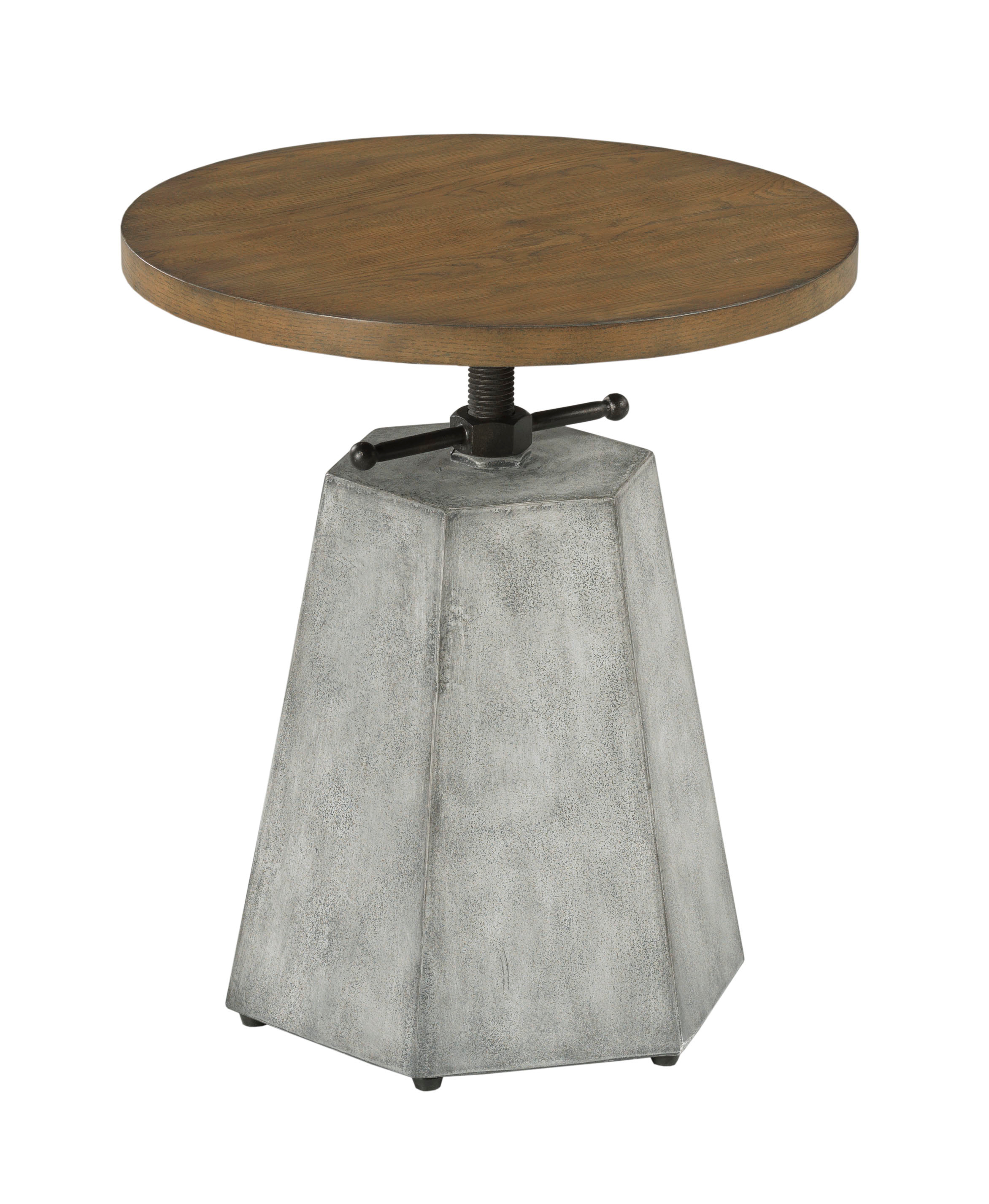 Olmsted Adjustable Accent Table by Hammary at Crowley Furniture & Mattress