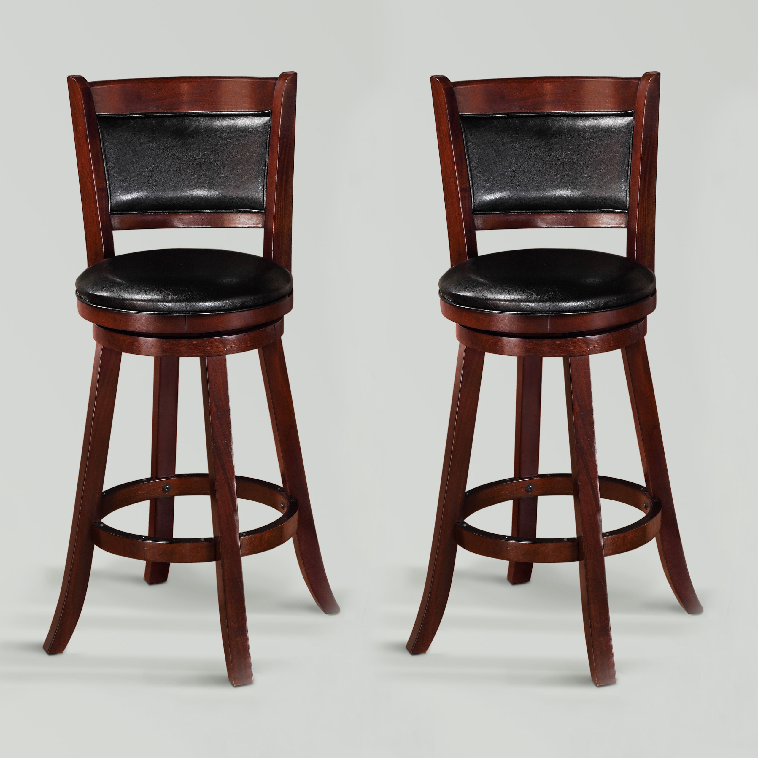 Crosscourt Bar Stool by Crown Mark at Northeast Factory Direct