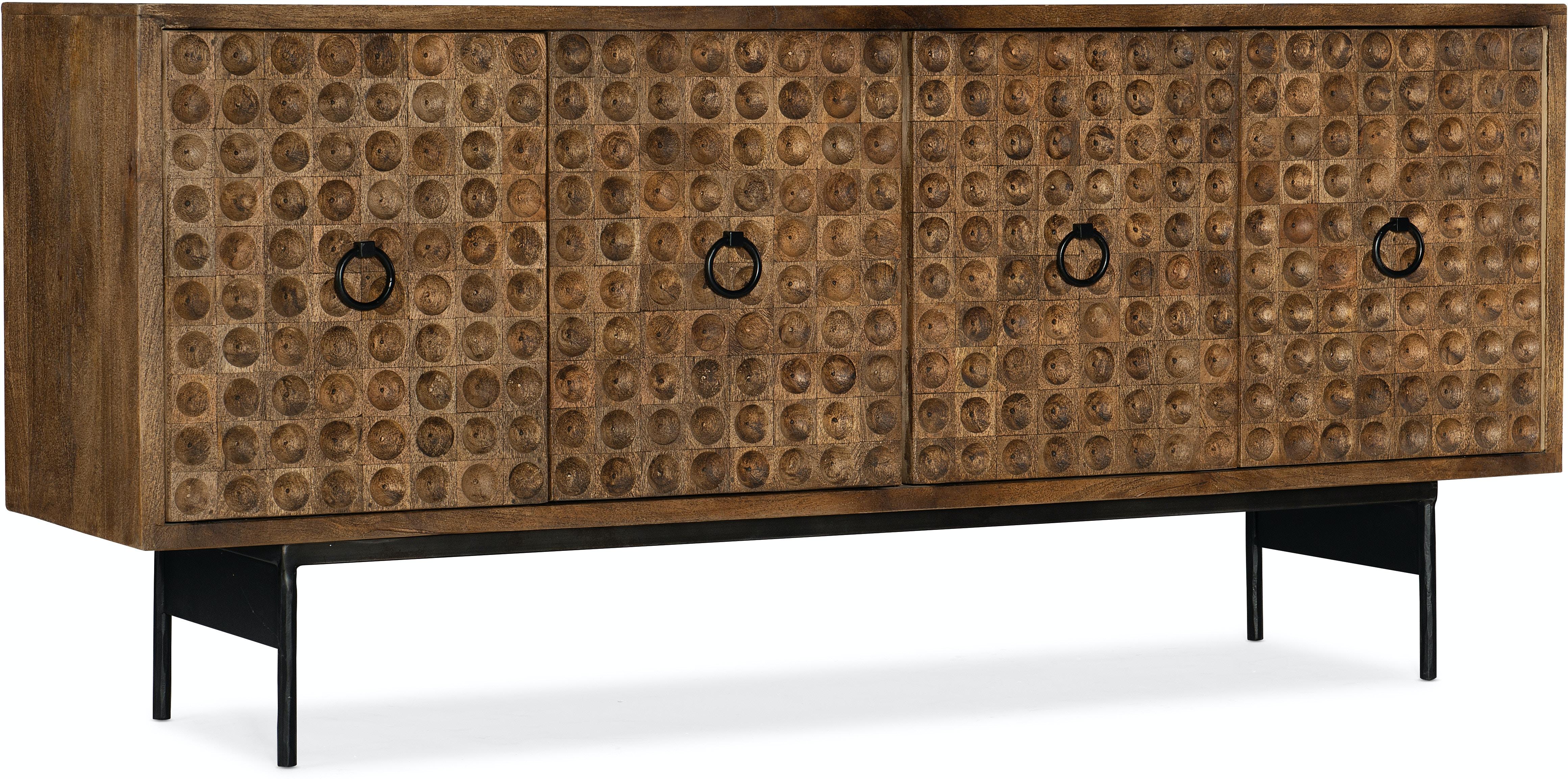 Melange Swanston Credenza by Hooker Furniture at Alison Craig Home Furnishings