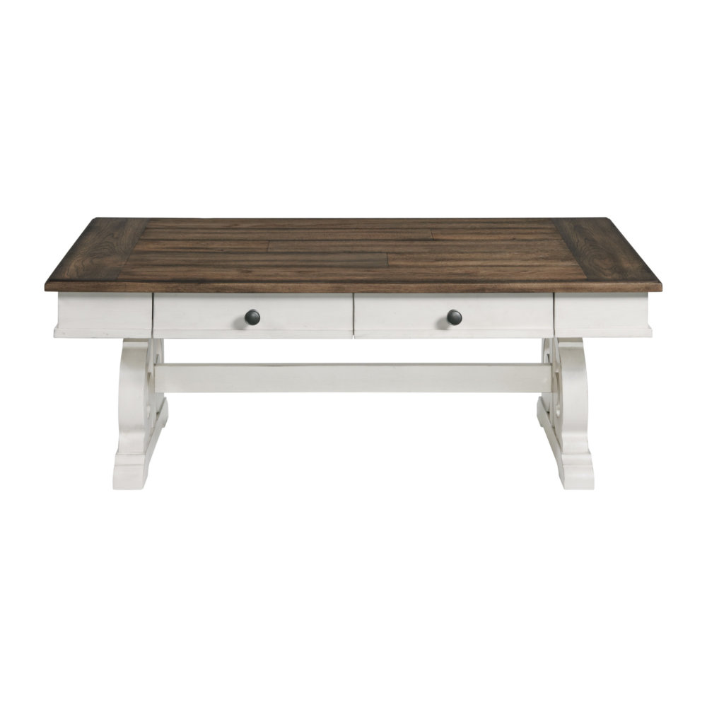 Drake Coffee Table by VFM Signature at Virginia Furniture Market