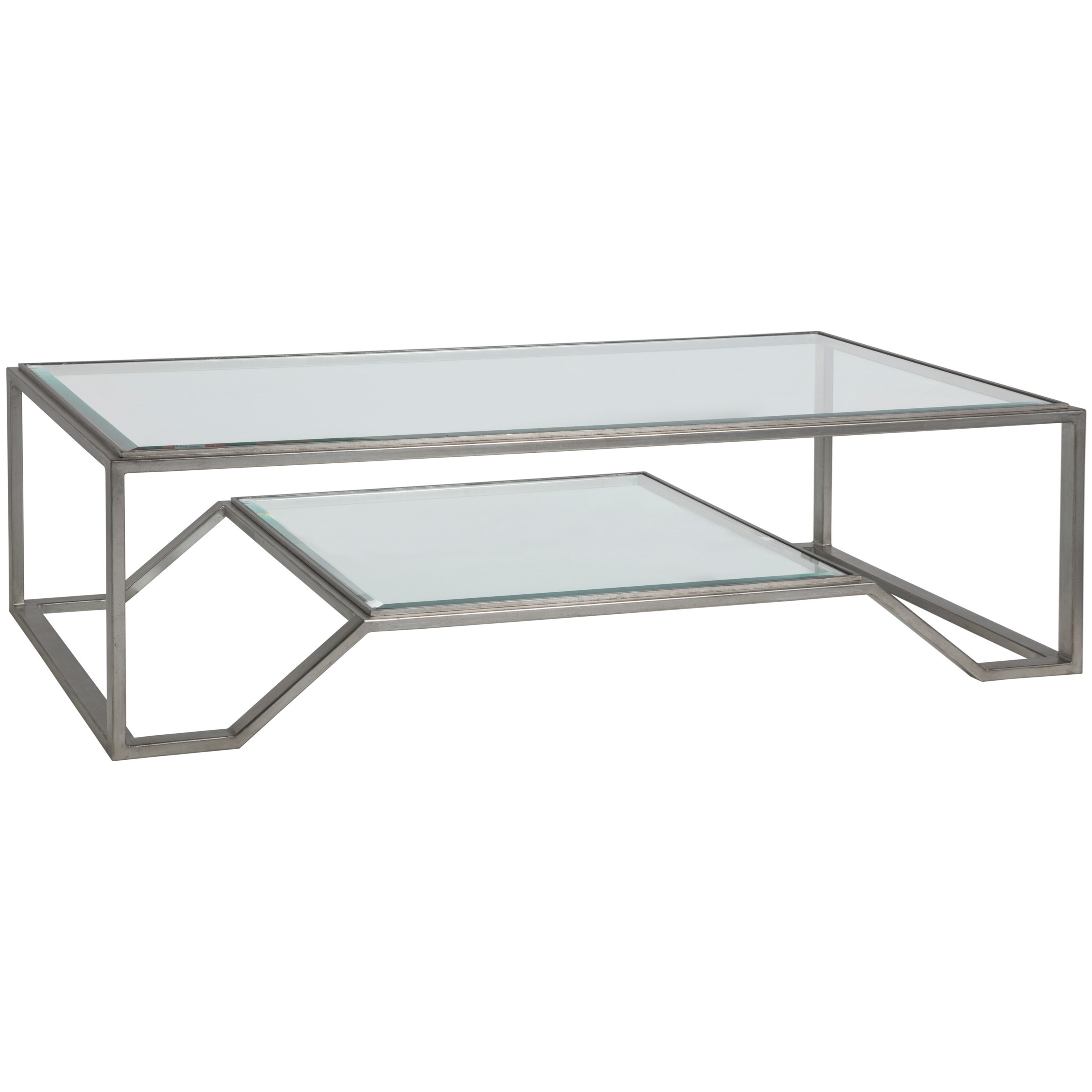Artistica Metal Byron Rectangular Cocktail Table by Artistica at Baer's Furniture