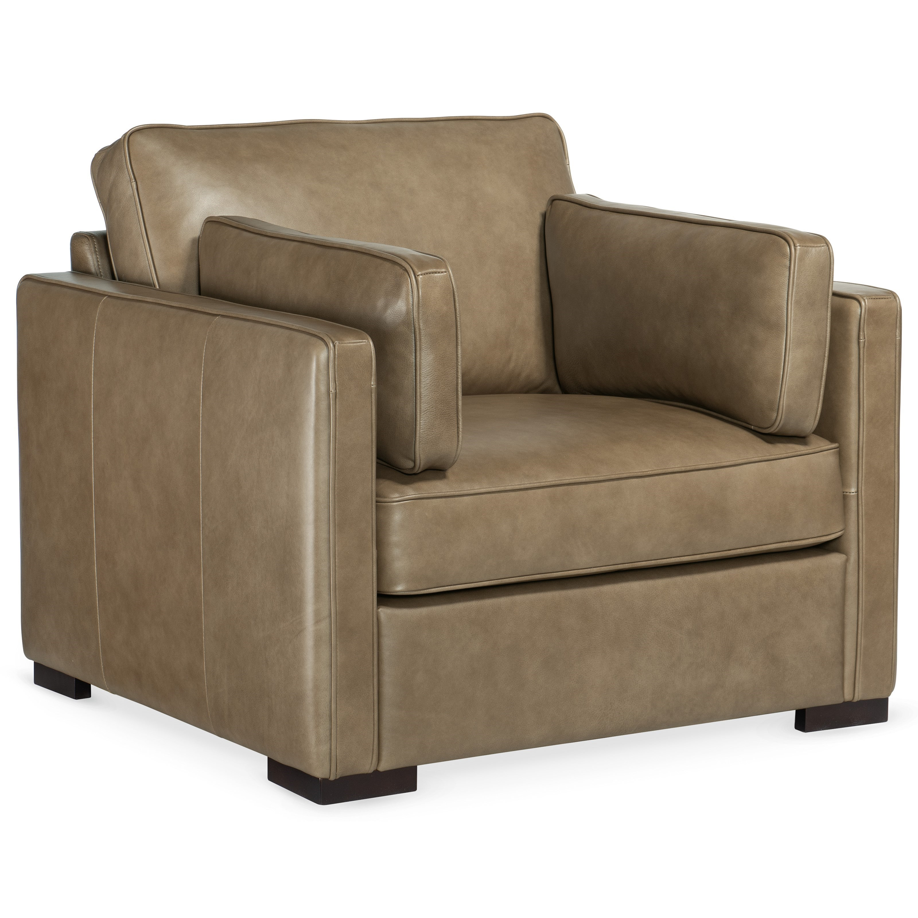 Romiah Stationary Chair by Hooker Furniture at Miller Waldrop Furniture and Decor