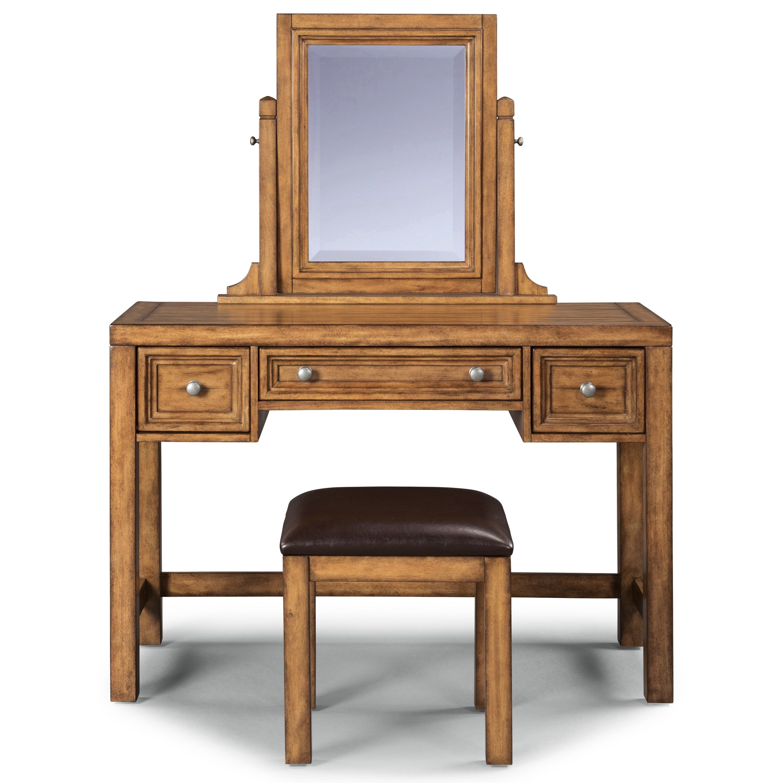 Sedona Vanity & Bench by homestyles at Sam Levitz Furniture
