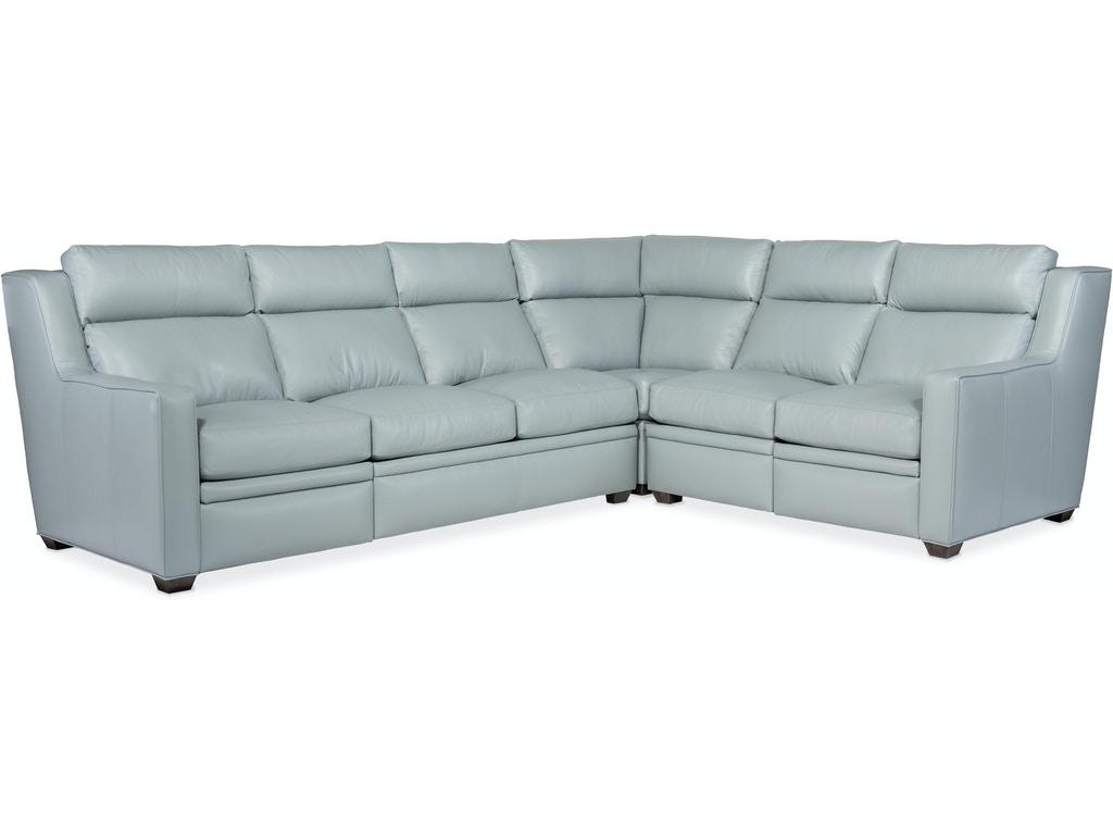 3-Piece Reclining Sectional Sofa w/ RAF Sofa