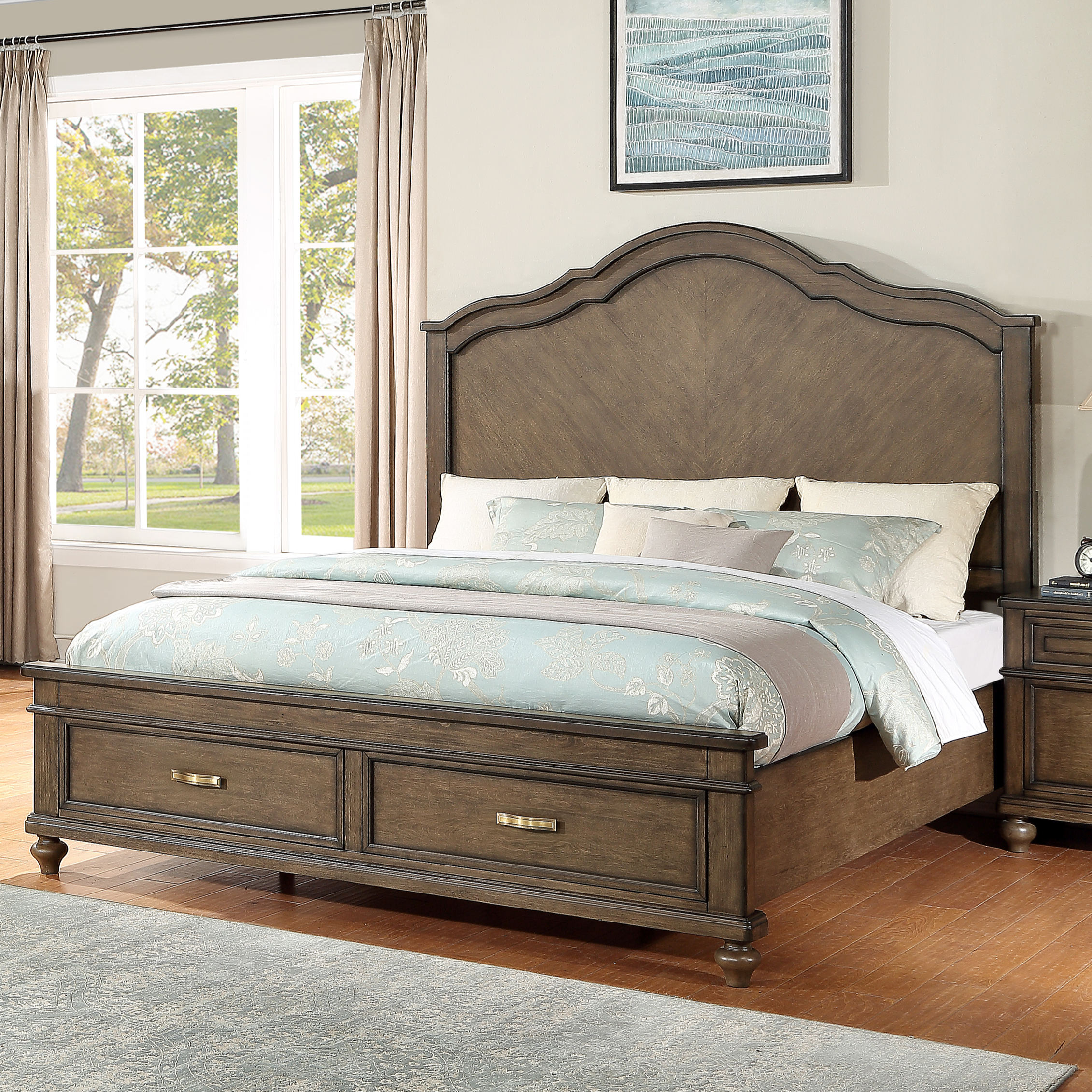 Canterbury King Bed by New Classic at Beds N Stuff
