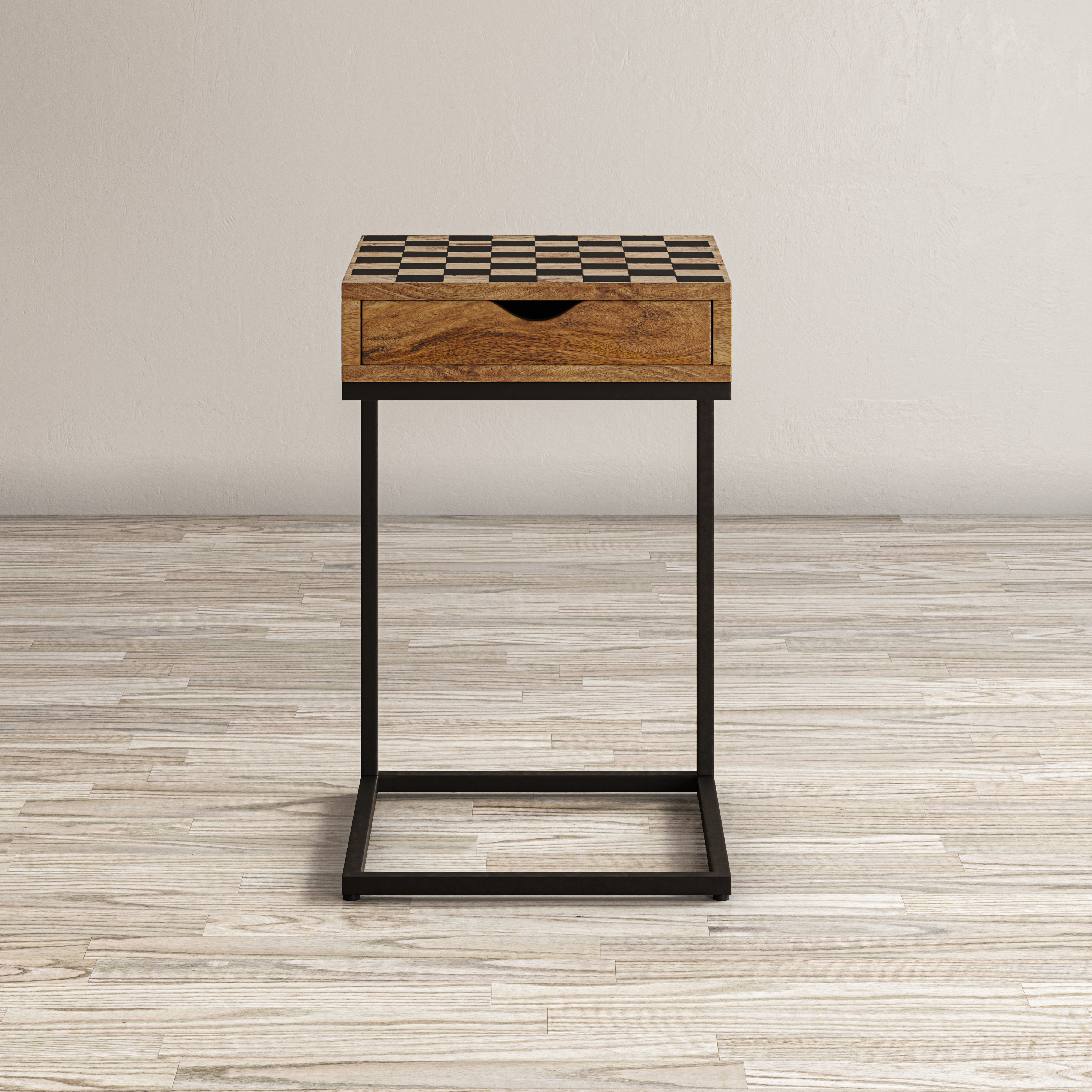 Global Archive Checkerboard C-Table by Jofran at Jofran