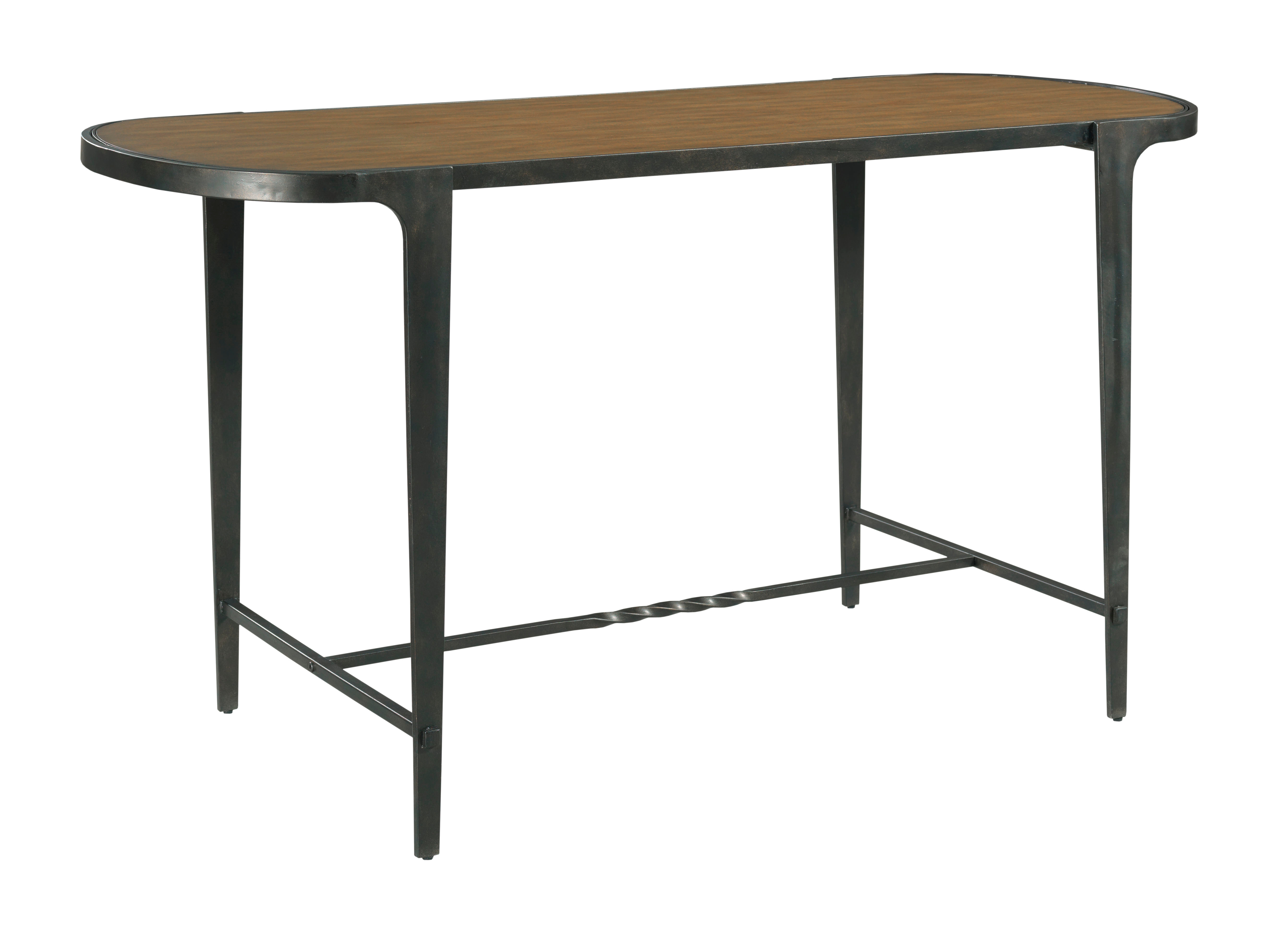 Oval Counter Table