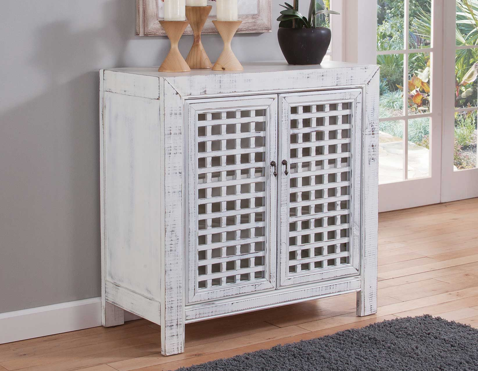 Rio 2-Door Cabinet by Steve Silver at Van Hill Furniture