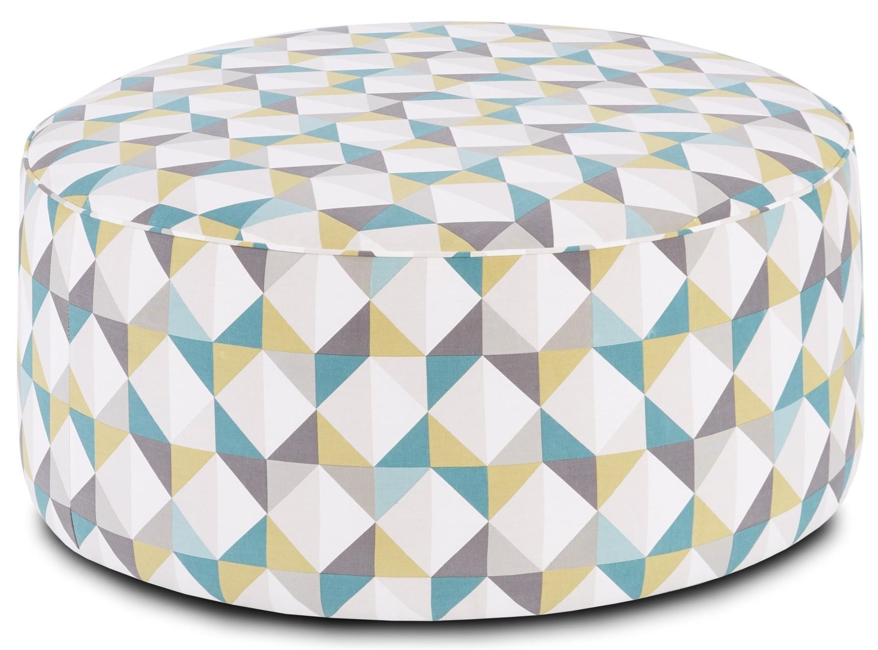 41CW-00KP TNT NICKEL (REVOLUTION) Cocktail Ottoman by Fusion Furniture at Story & Lee Furniture