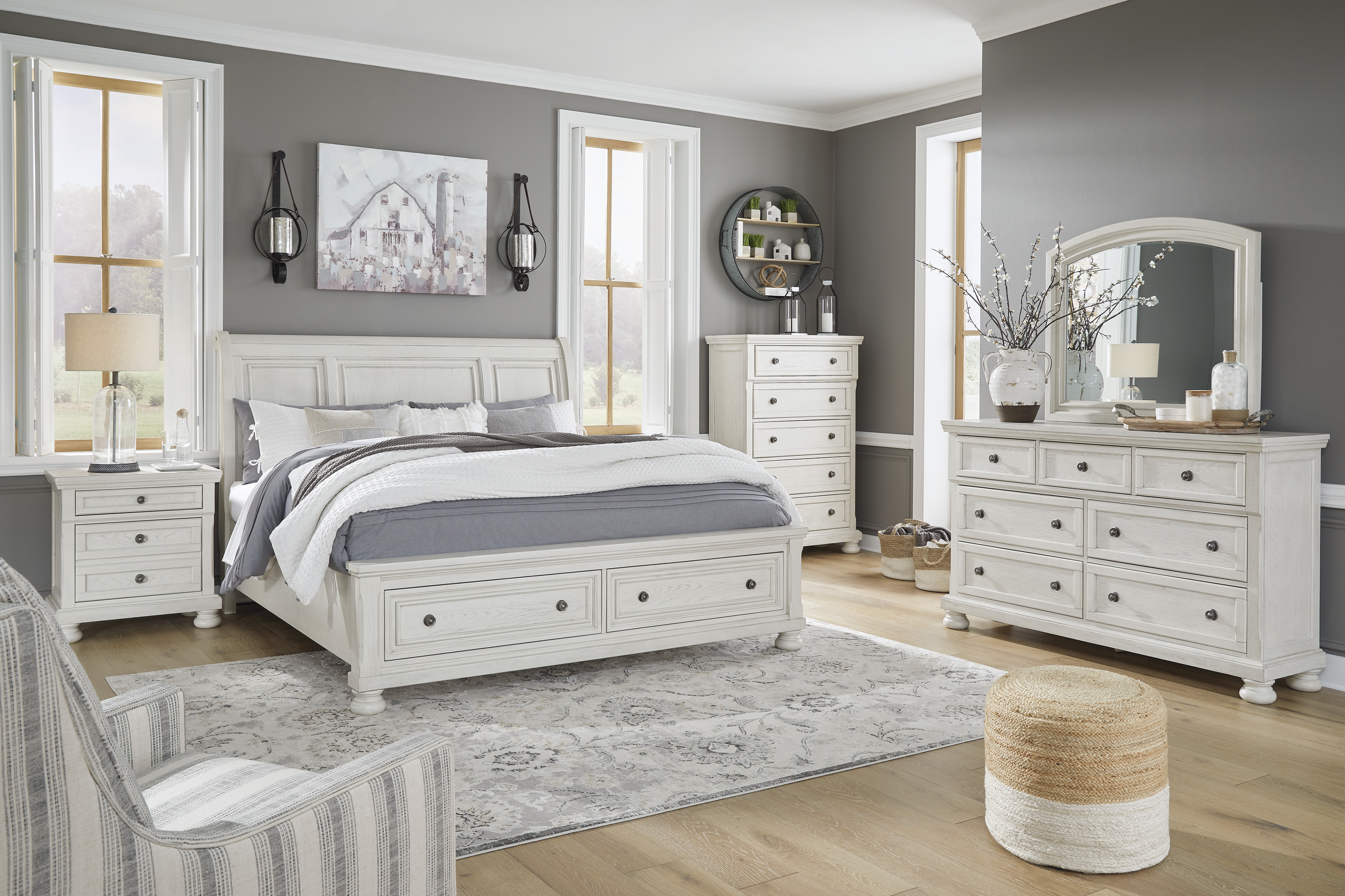 Robbinsdale Bedroom Groups by Signature Design by Ashley at Dream Home Interiors