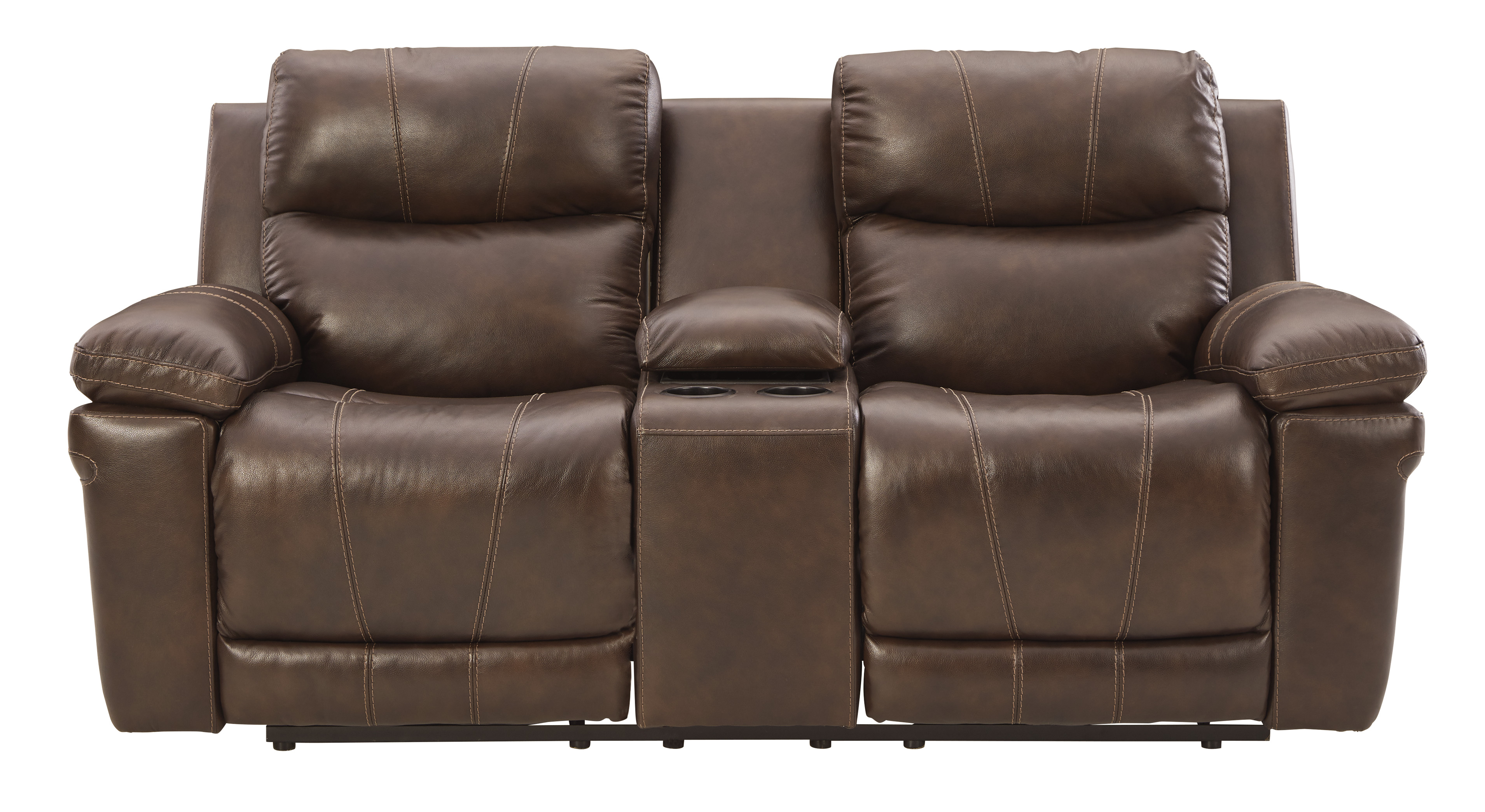 Edmar Power Reclining Loveseat with Console by Signature Design by Ashley at Standard Furniture