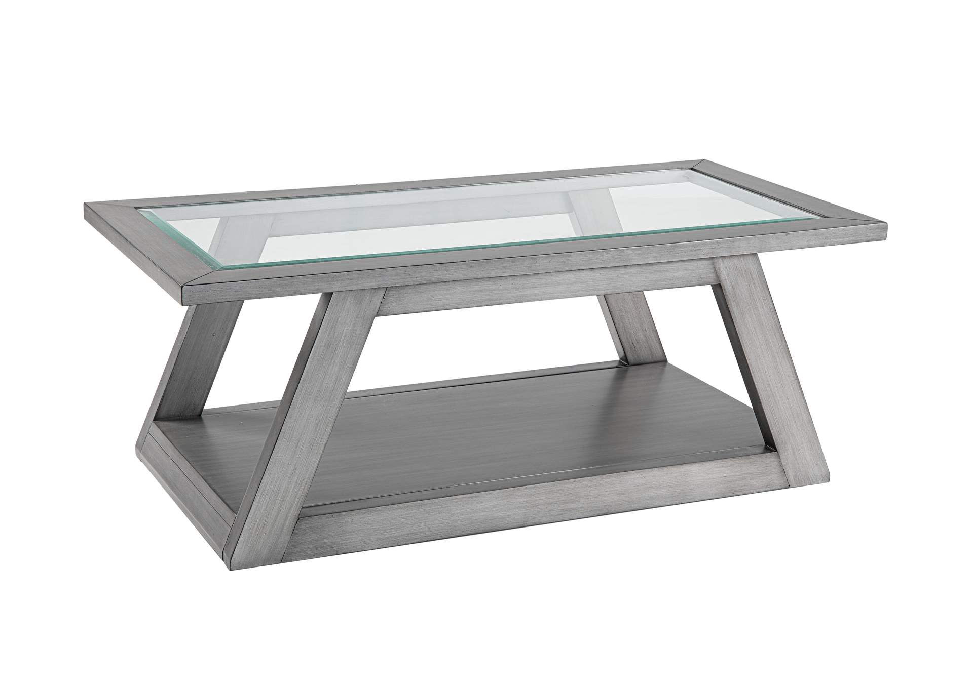 Vue Cocktail Table by Lane at Story & Lee Furniture
