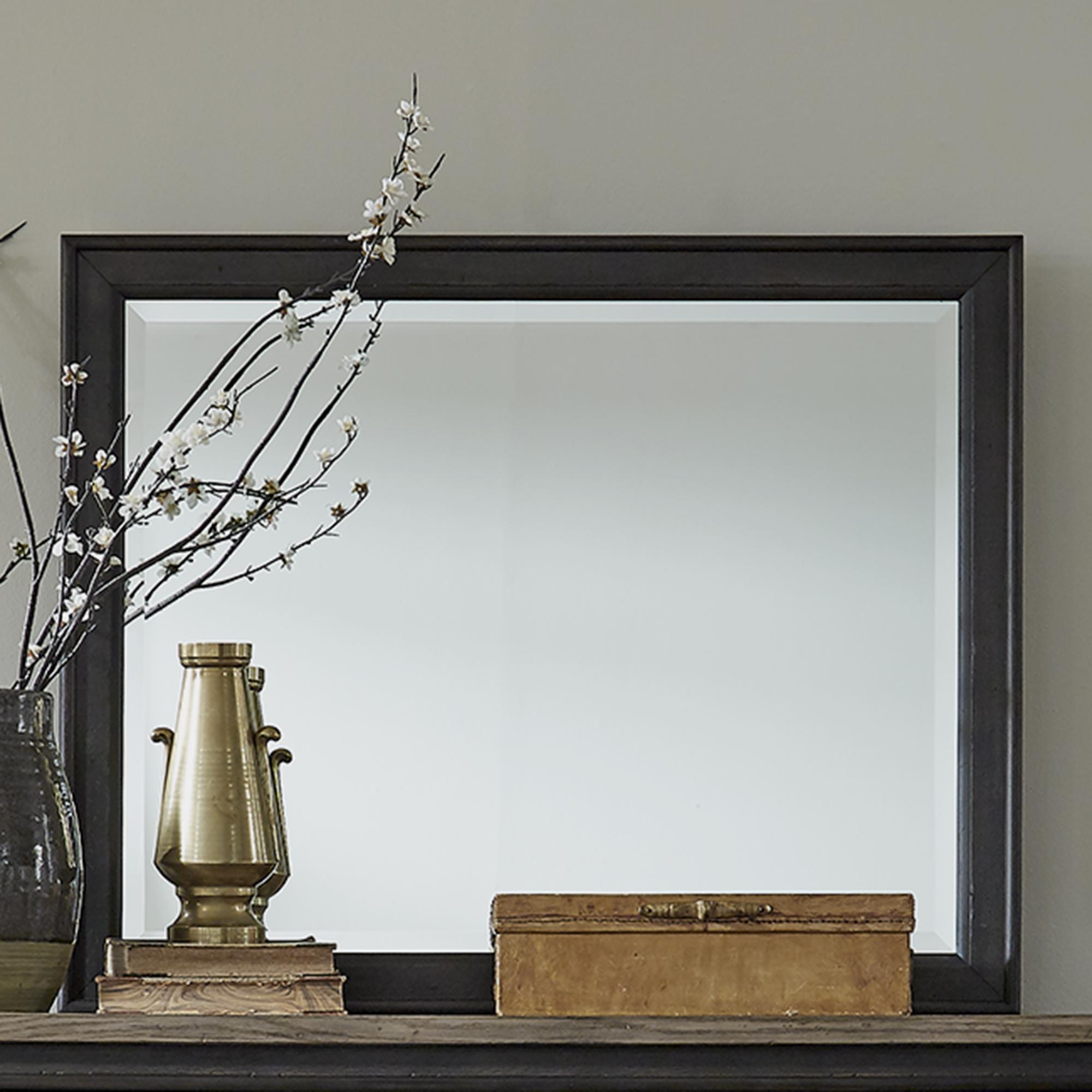 Americana Farmhouse Landscape Dresser Mirror by Liberty Furniture at Esprit Decor Home Furnishings