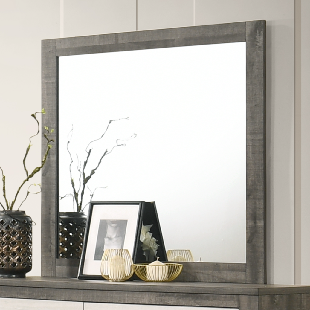 Rhett Dresser Mirror by Crown Mark at Dream Home Interiors