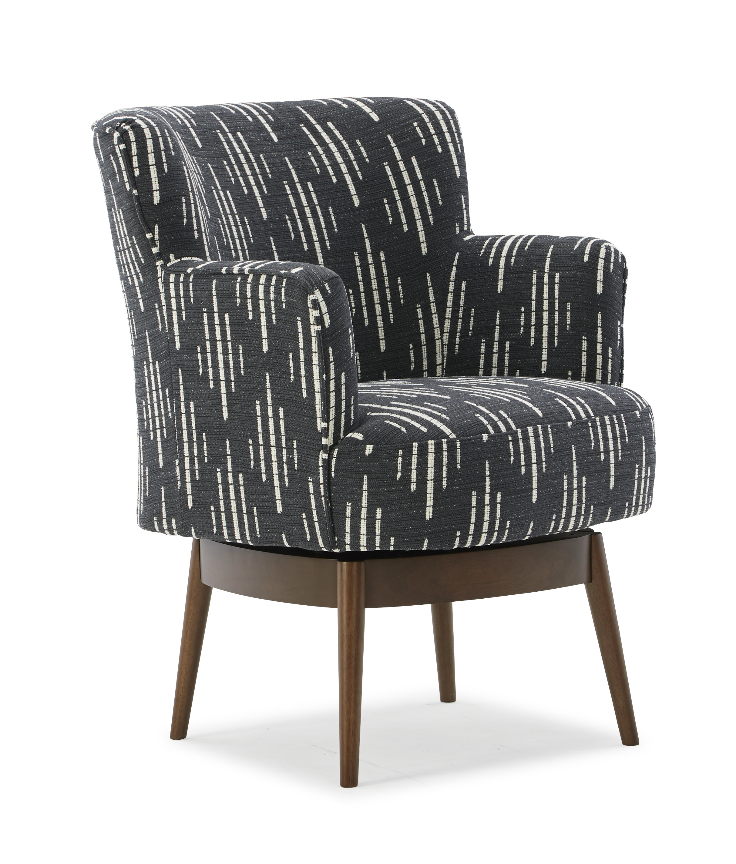 Kelida Swivel Barrel Chair by Best Home Furnishings at Gill Brothers Furniture