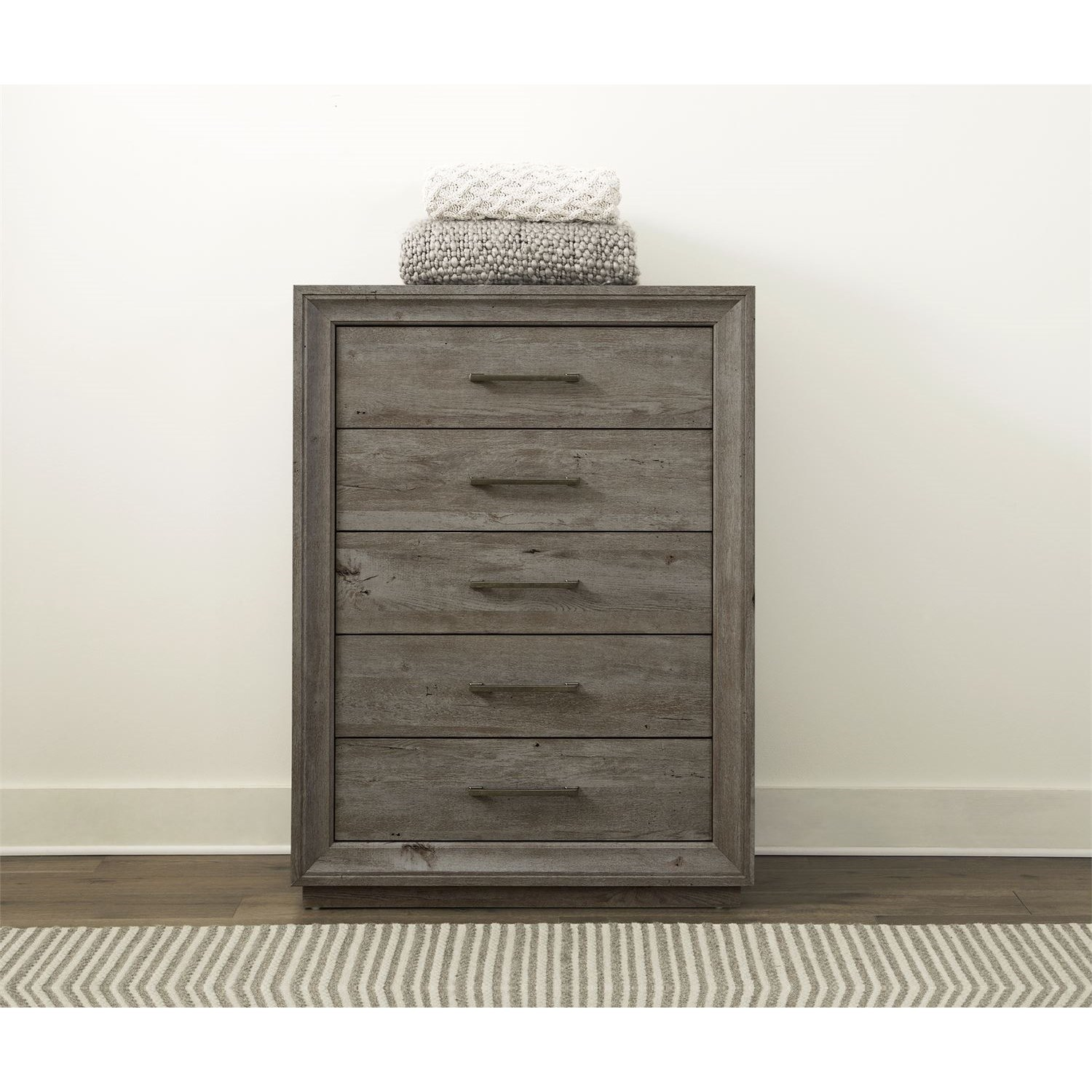 Horizons 5-Drawer Chest by Liberty Furniture at Darvin Furniture