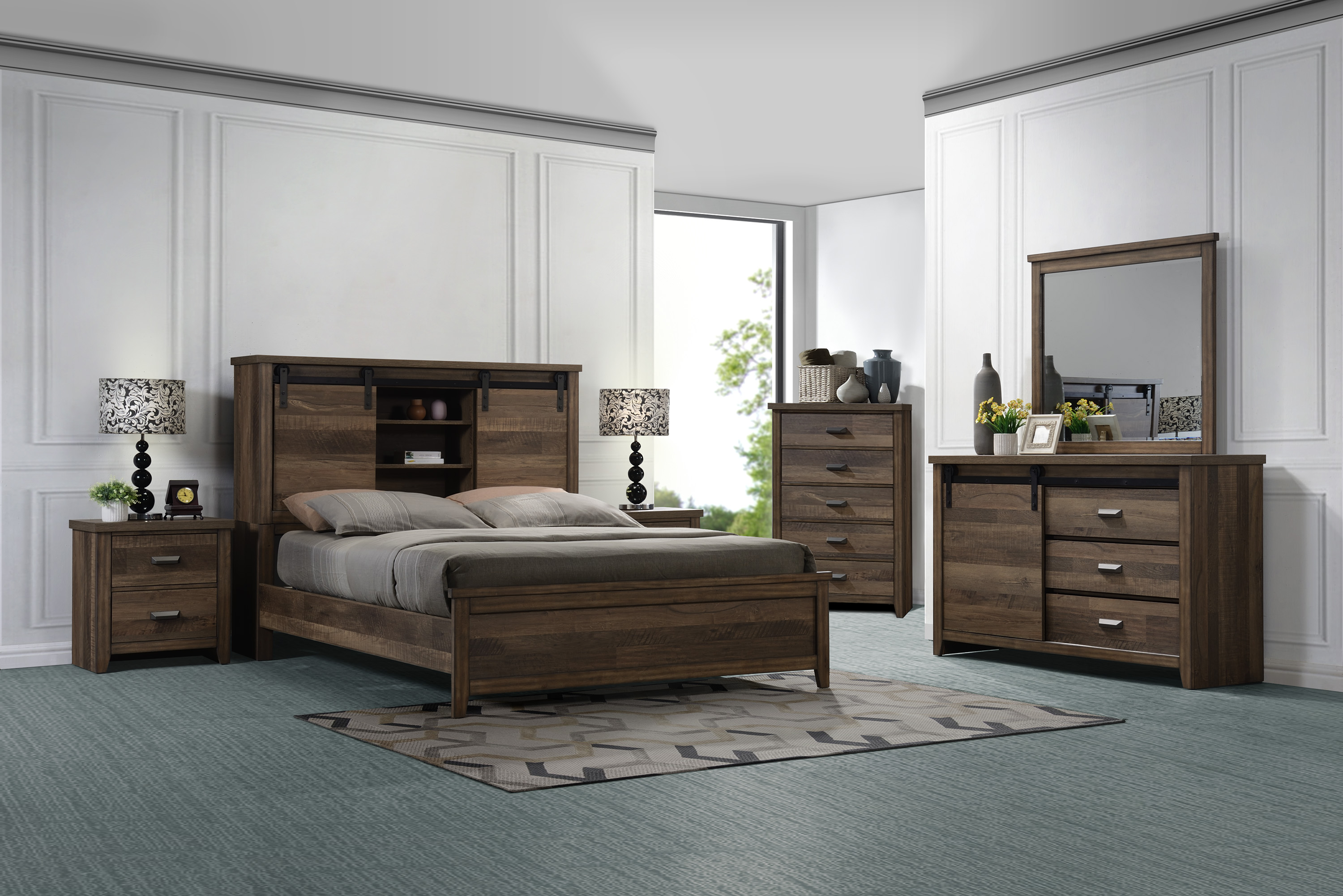 Calhoun King Bedroom Group by Crown Mark at Northeast Factory Direct