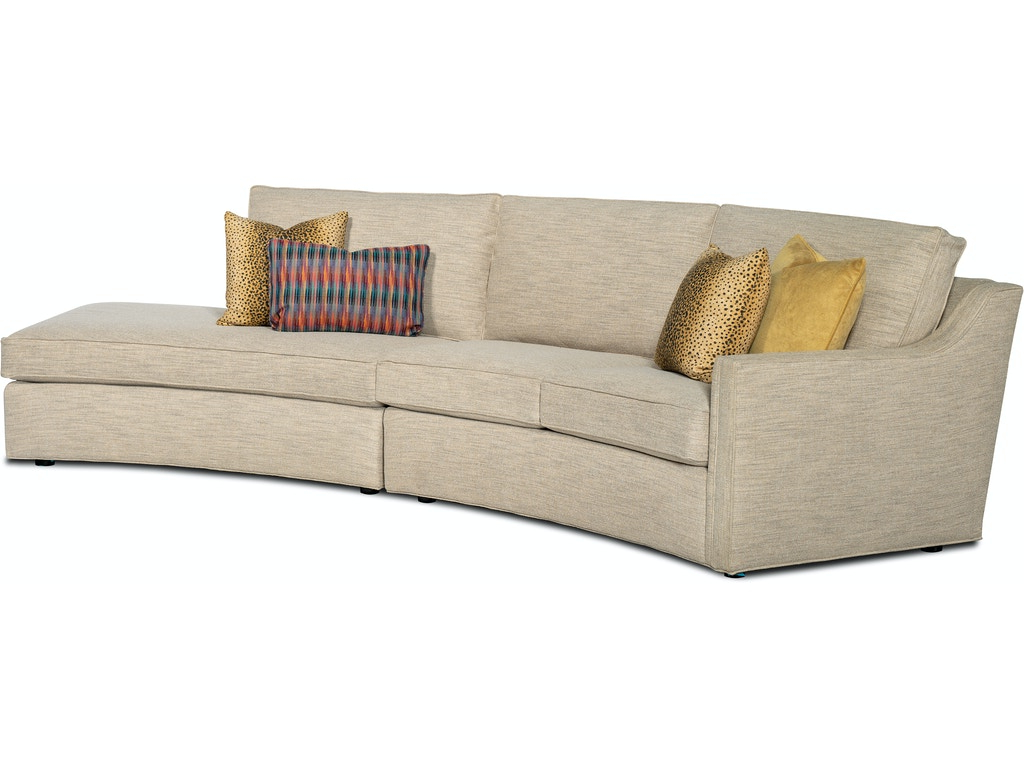 2-Piece Sectional Sofa w/ LAF Bumper Chaise