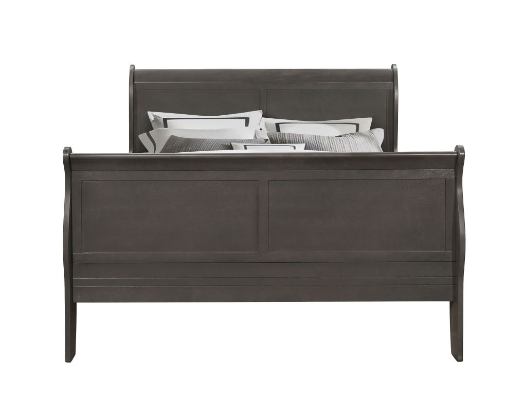5933G Queen Sleigh Bed by Lifestyle at Becker Furniture