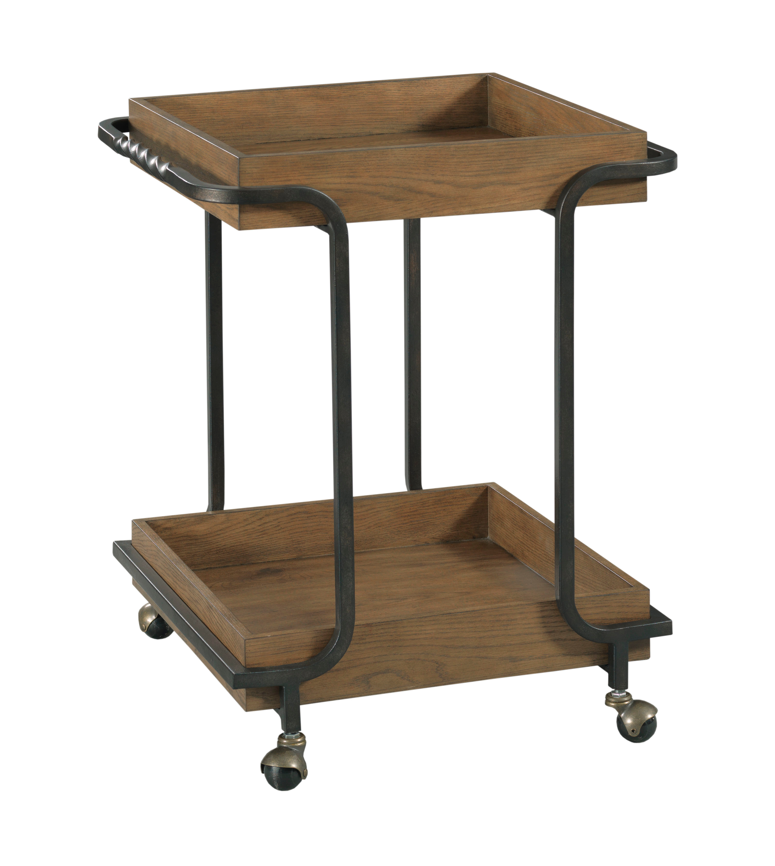 Olmsted Bar Cart by Hammary at Crowley Furniture & Mattress