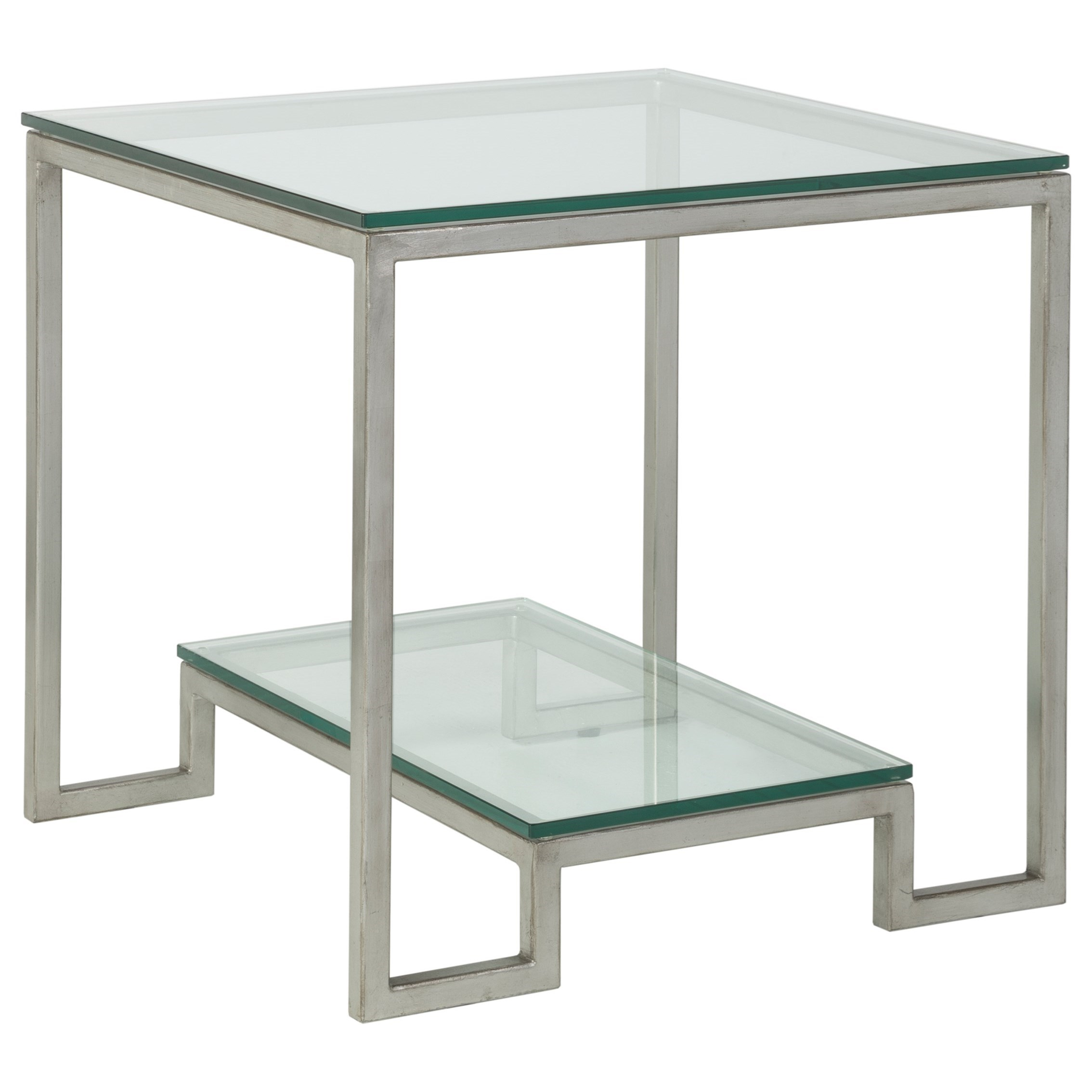 Artistica Metal Bonaire Square End Table by Artistica at Baer's Furniture