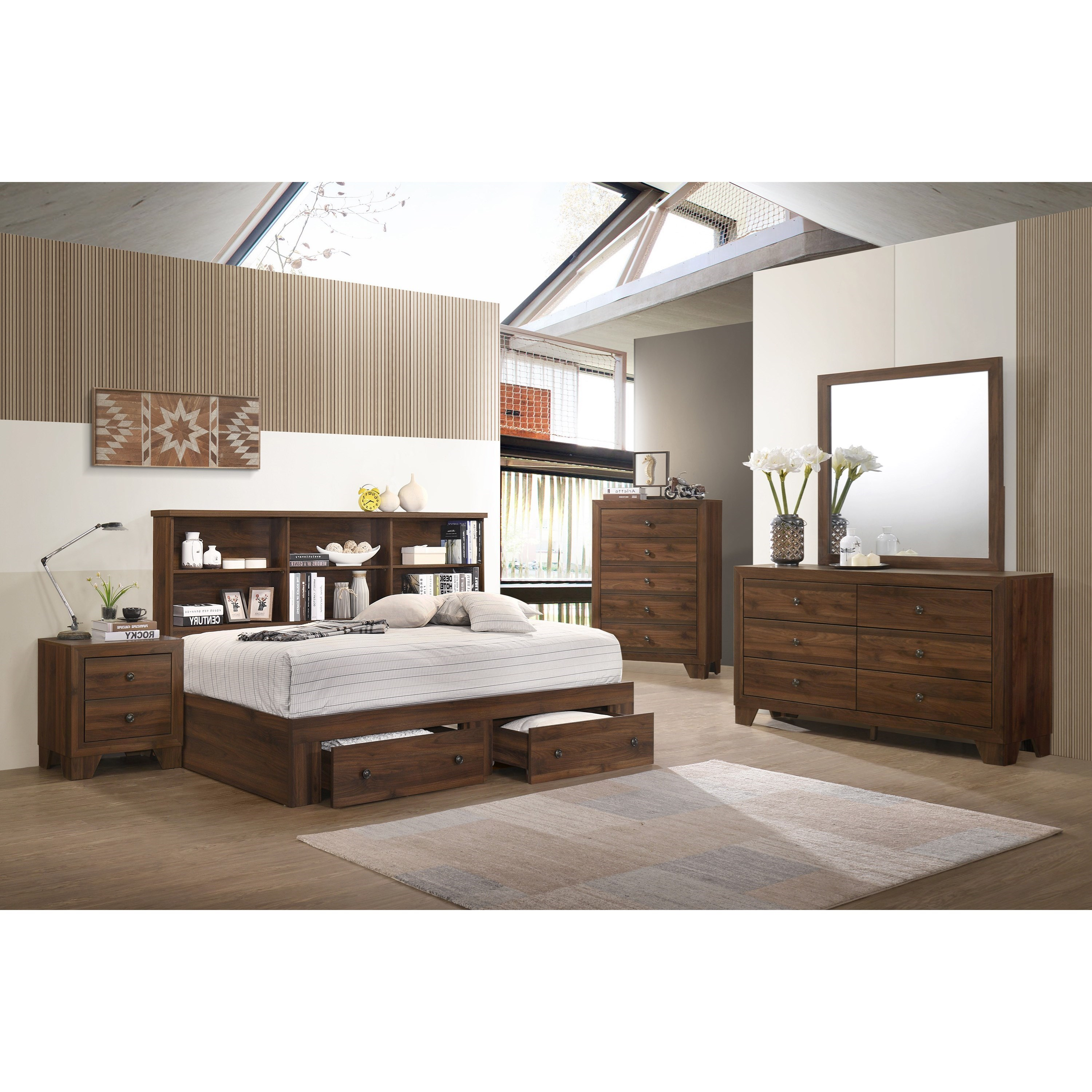 Millie Twin Daybed Bedroom Group by Crown Mark at Northeast Factory Direct