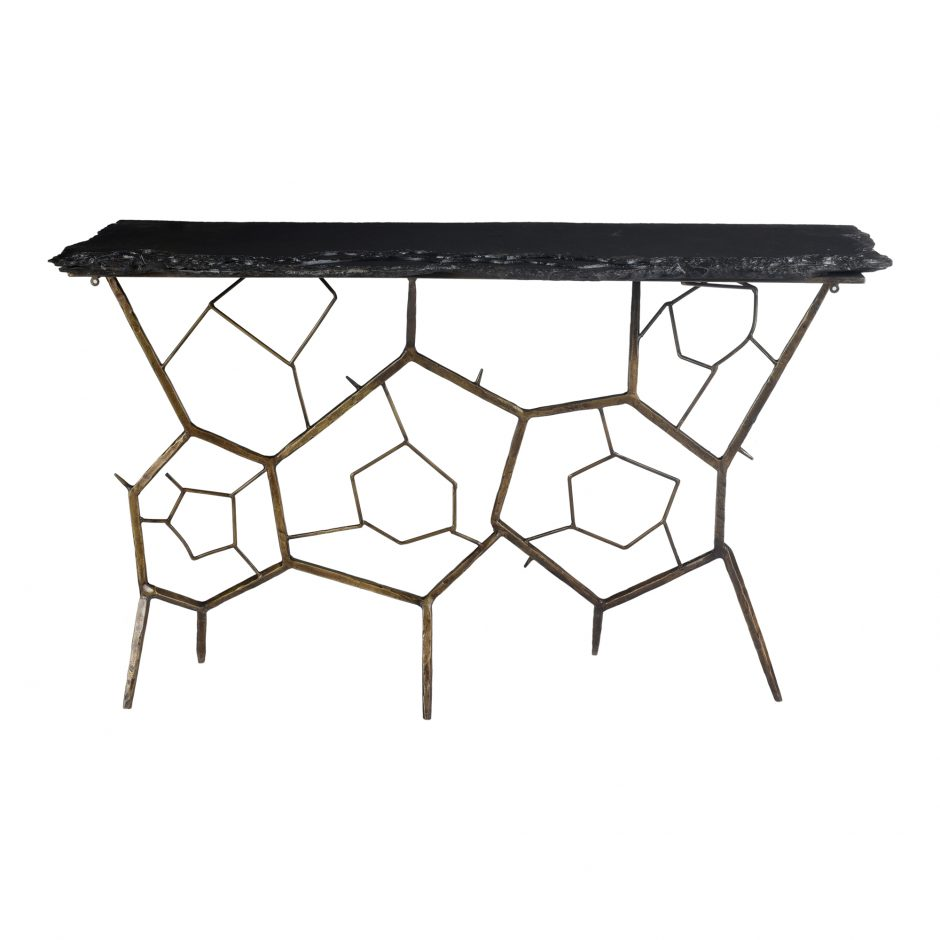 Nate Console Table by Moe's Home Collection at Stoney Creek Furniture