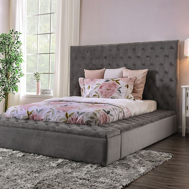 Davida California King Bed by Furniture of America at Dream Home Interiors