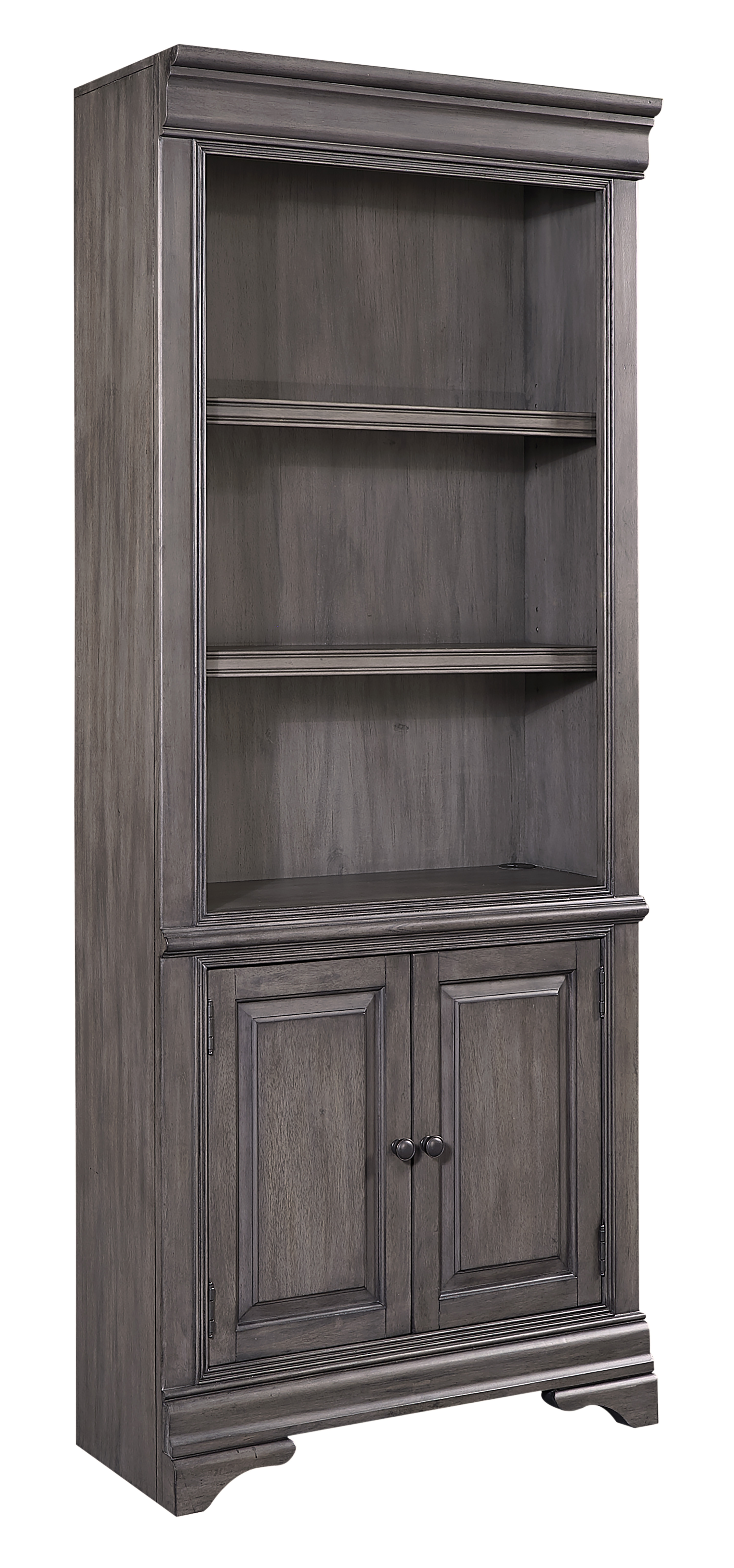 Sinclair Door Bookcase by Aspenhome at Stoney Creek Furniture