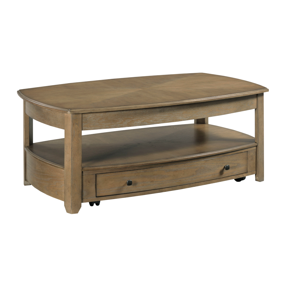 Primo III Rectangular Coffee Table by Hammary at Crowley Furniture & Mattress