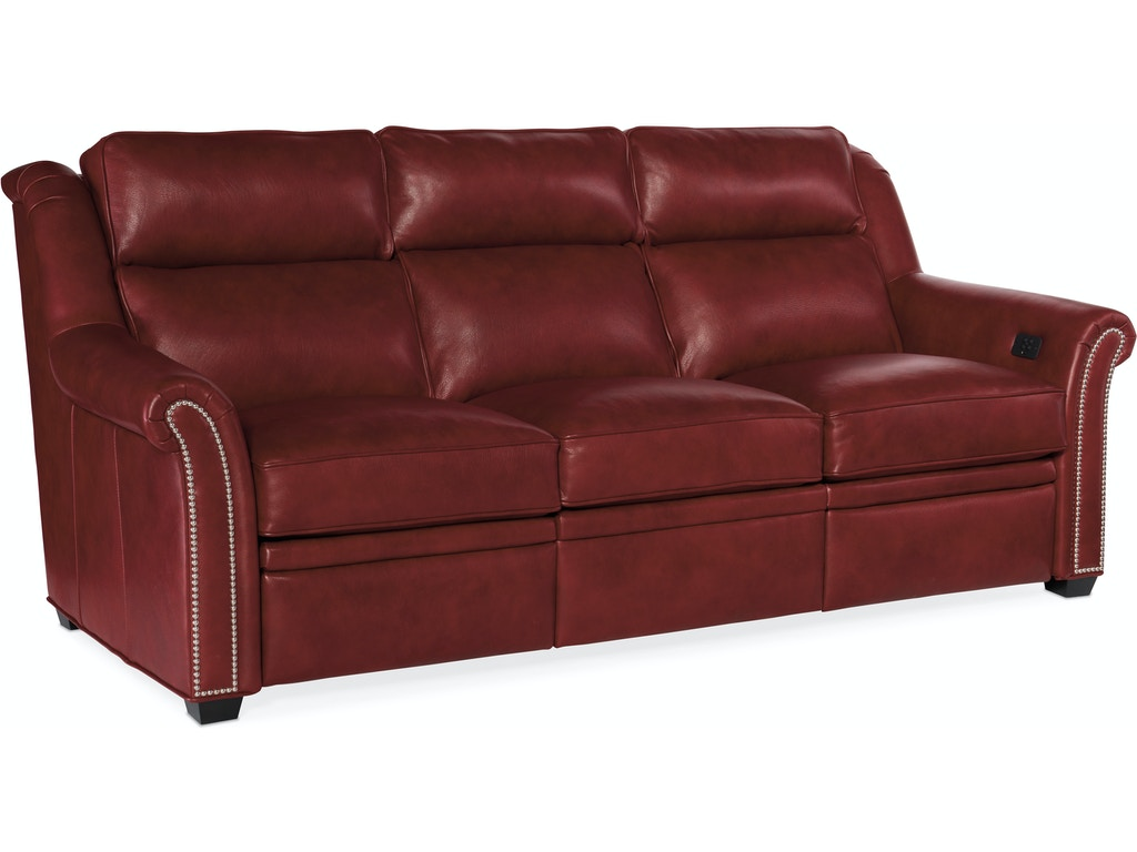 Power Reclining Sofa w/ Power Headrests