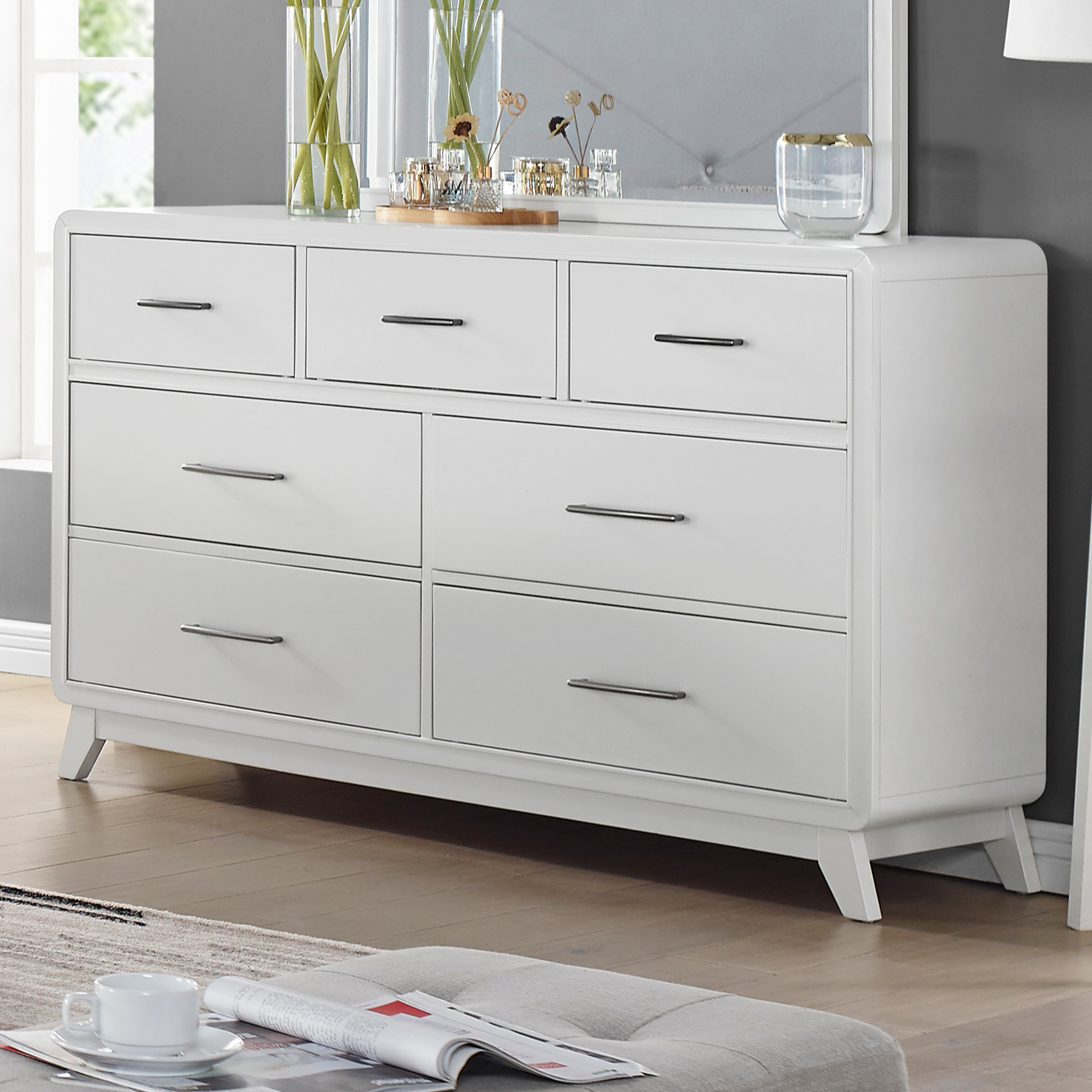 Skylar Dresser by New Classic at Beds N Stuff