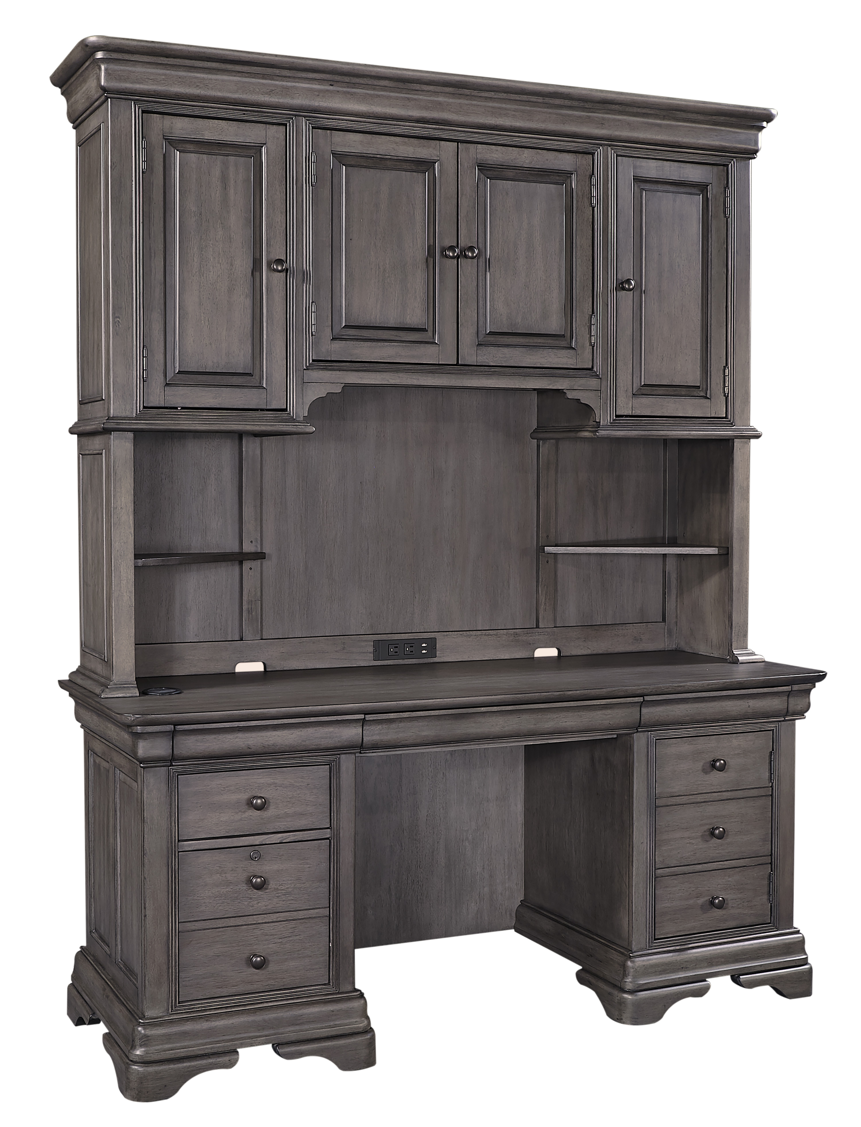 Sinclair Desk and Hutch by Aspenhome at Belfort Furniture