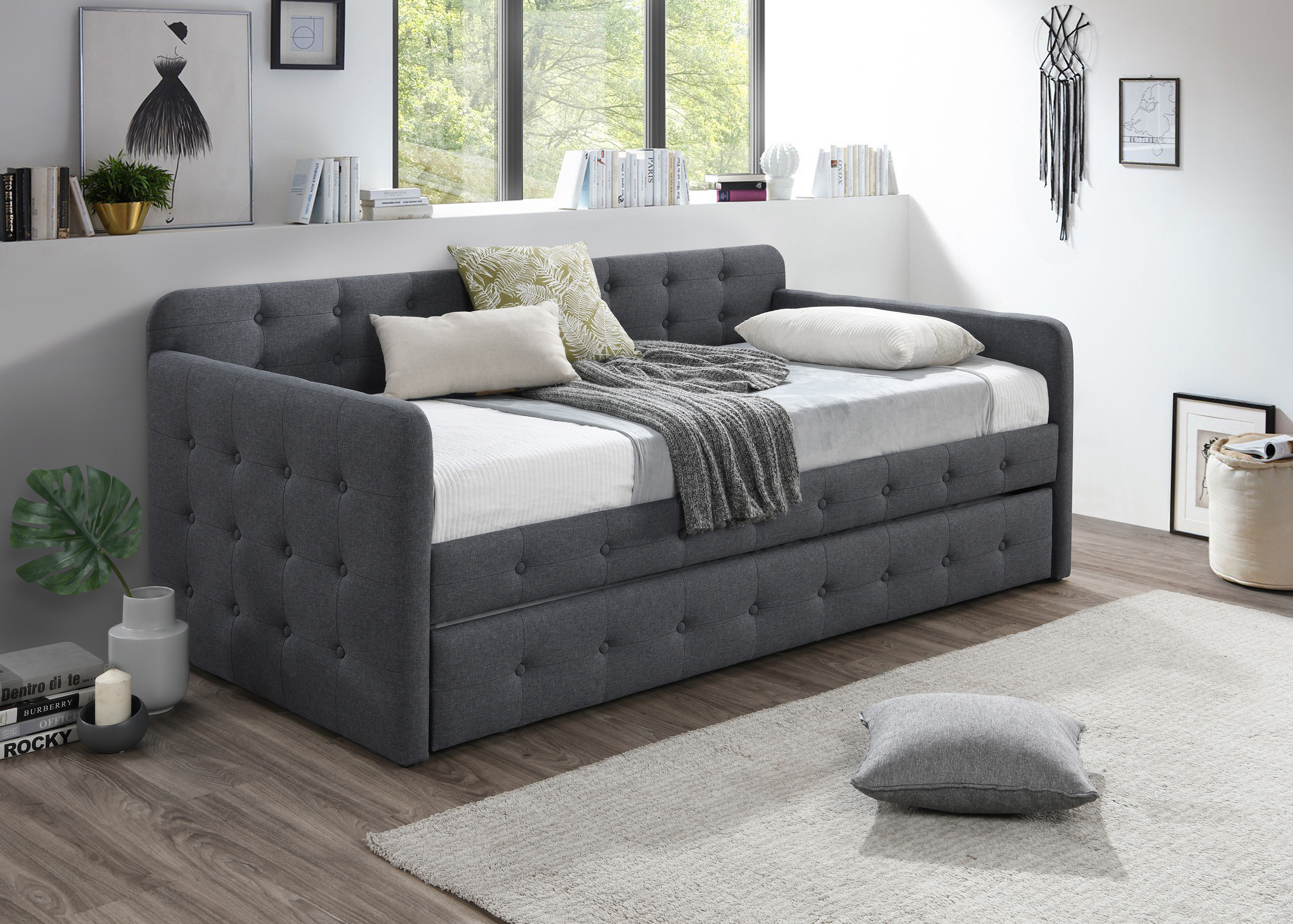 Haven Haven Daybed Back Front Rl Trundle by Crown Mark at Northeast Factory Direct