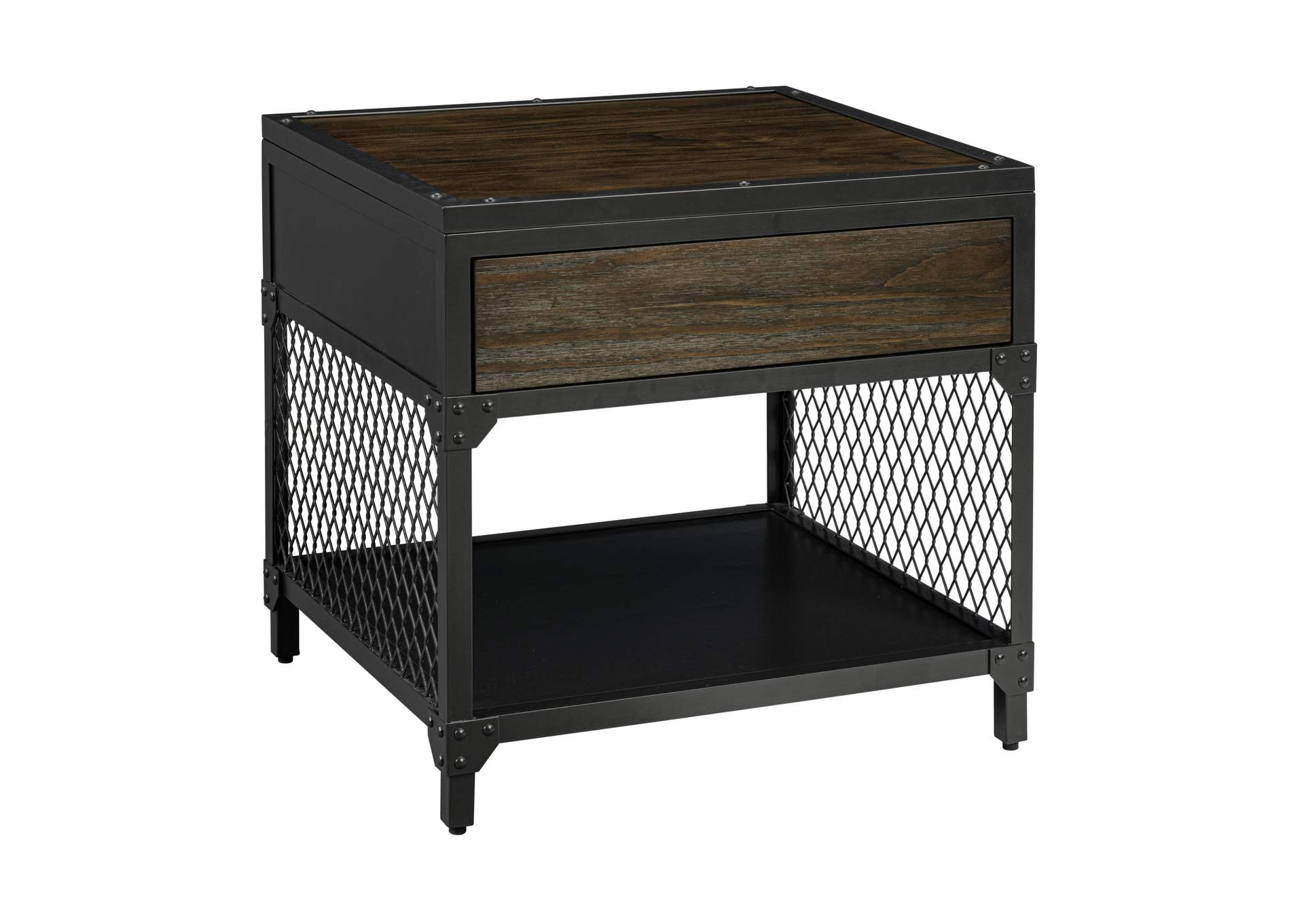 Cyrus End Table by Lane at Powell's Furniture and Mattress