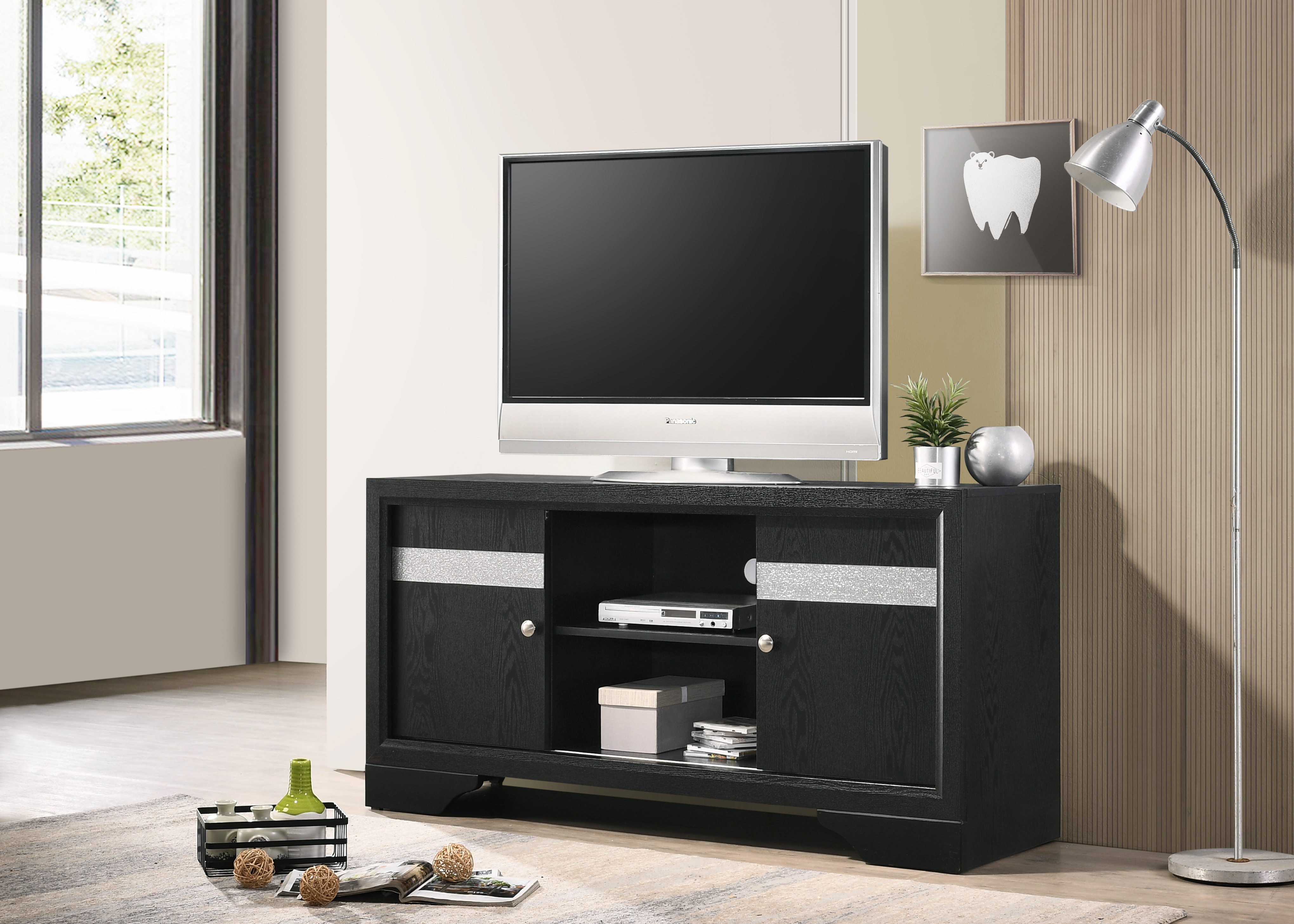 Regata TV Stand by Crown Mark at Johnny Janosik