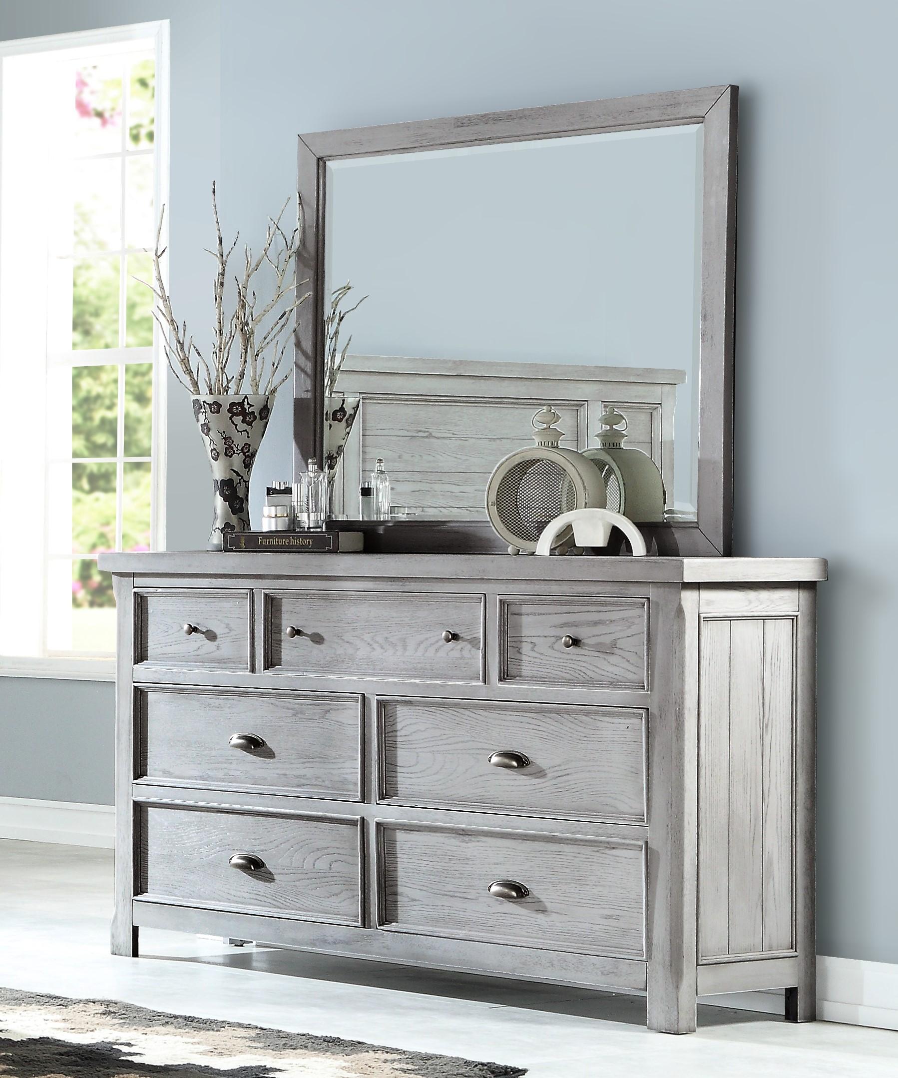 Legends Dresser and Mirror Set at Sadler's Home Furnishings