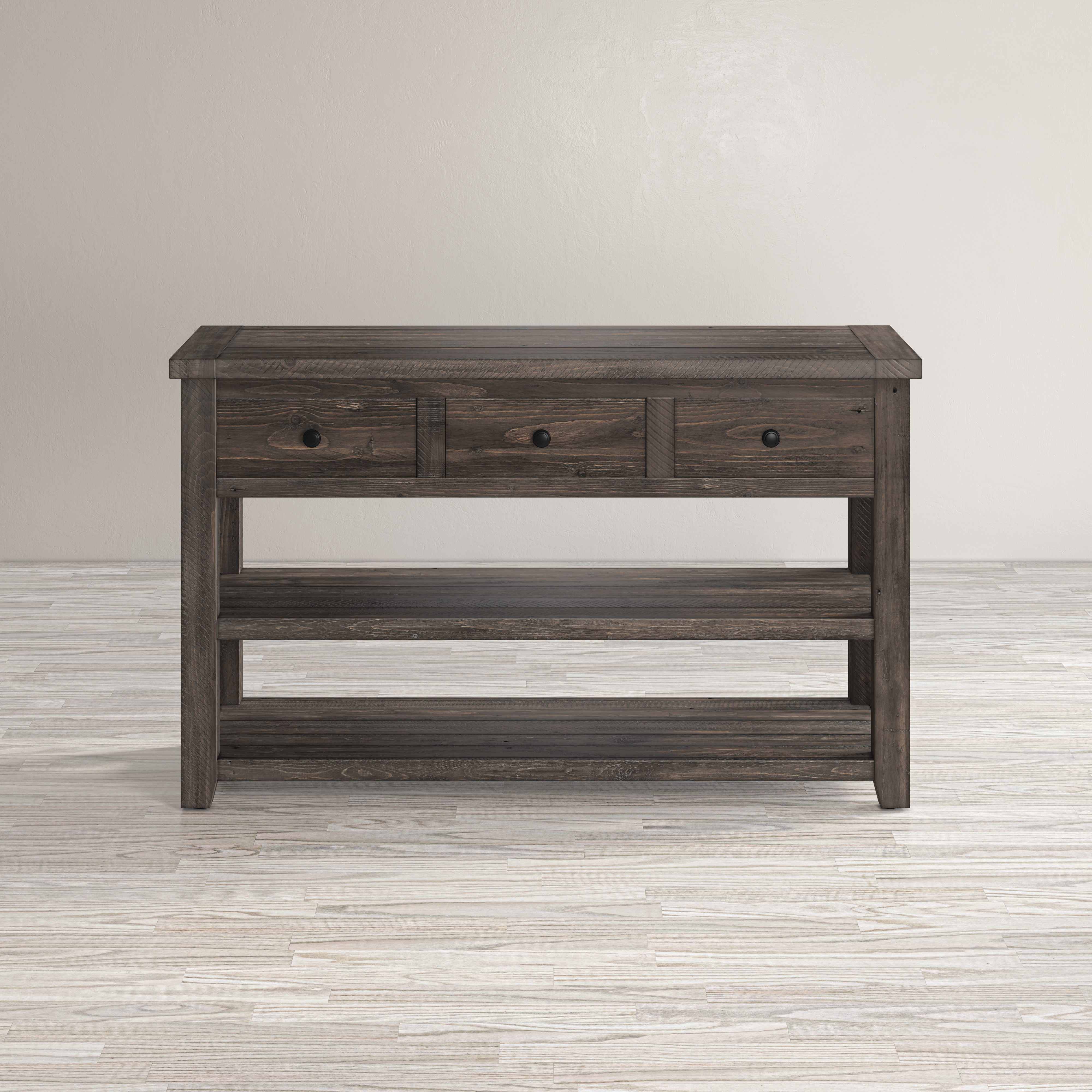 Madison County Sofa/Media Table by Jofran at Beck's Furniture