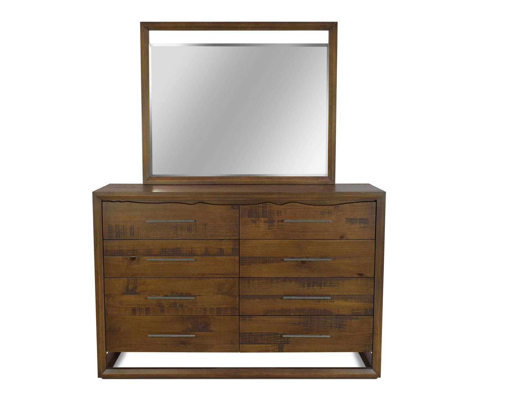 Lofton Dresser and Mirror Set by Star at EFO Furniture Outlet
