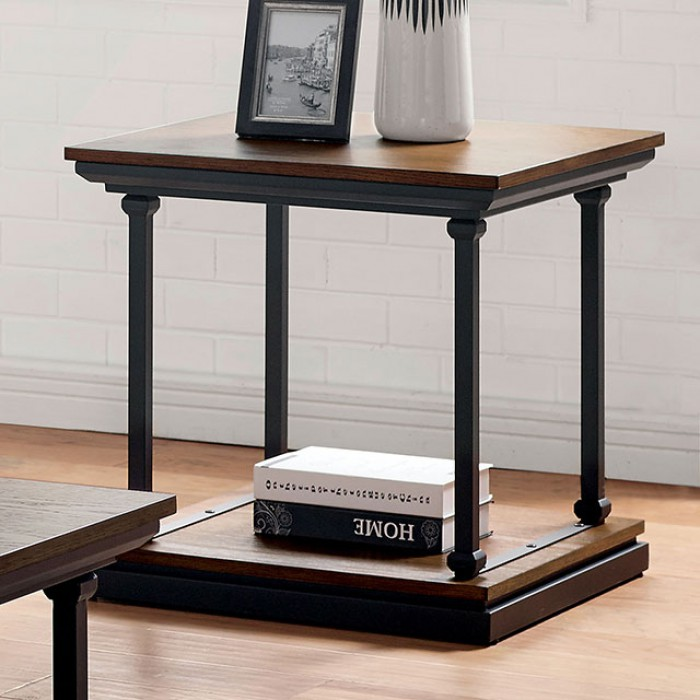 Lemuel End Table by Furniture of America at Dream Home Interiors