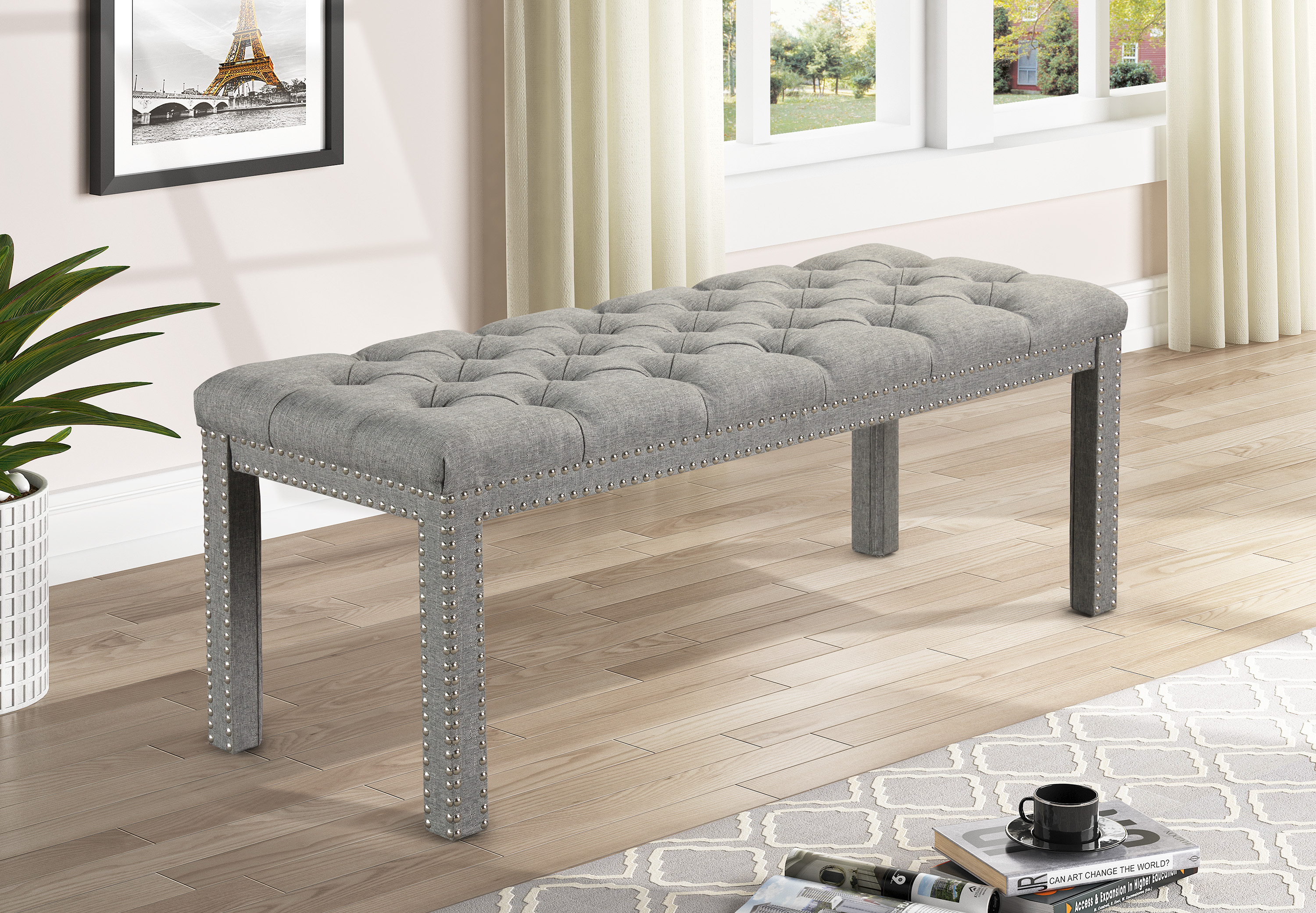 Finley Bench by Crown Mark at Dream Home Interiors