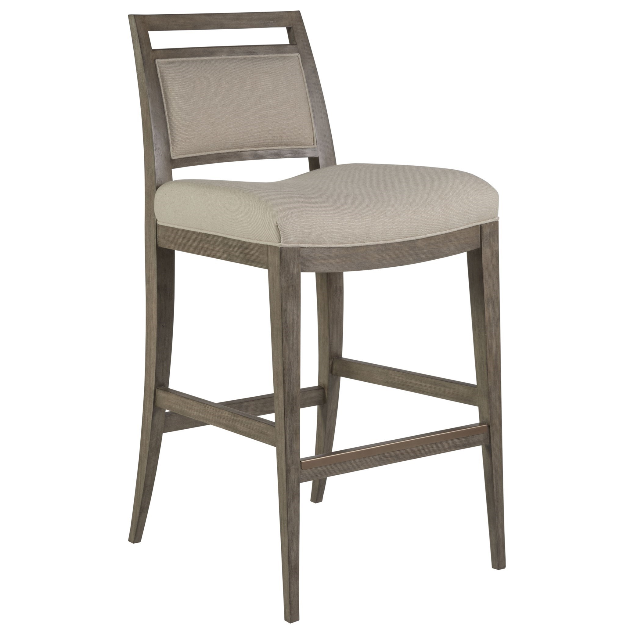 Cohesion Nico Upholstered Barstool by Artistica at Alison Craig Home Furnishings