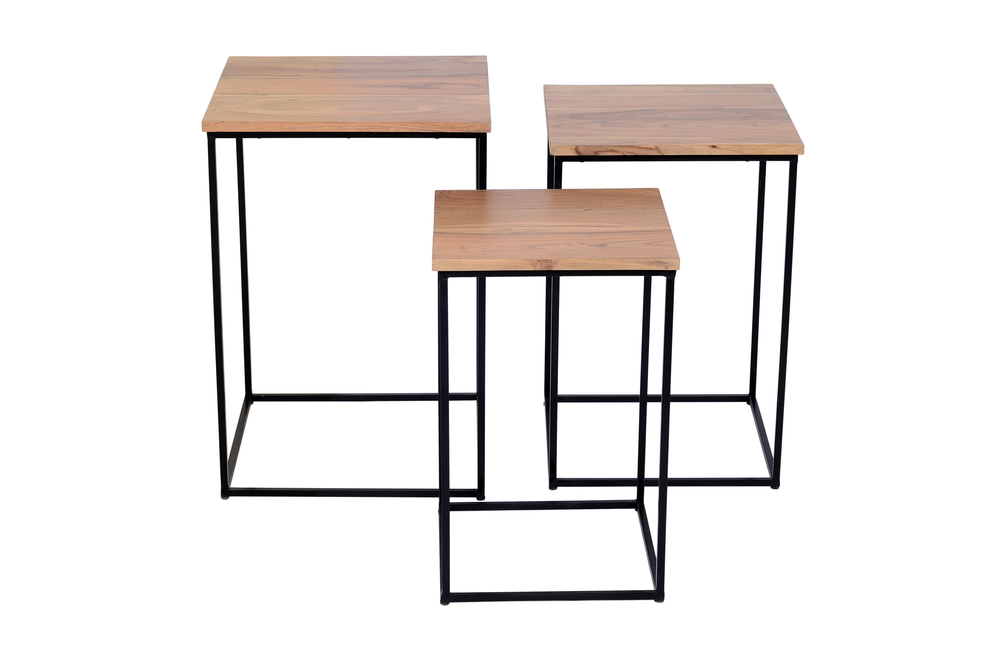 Global Archive Brody Nesting Tables - 3 Piece Set by Jofran at Jofran