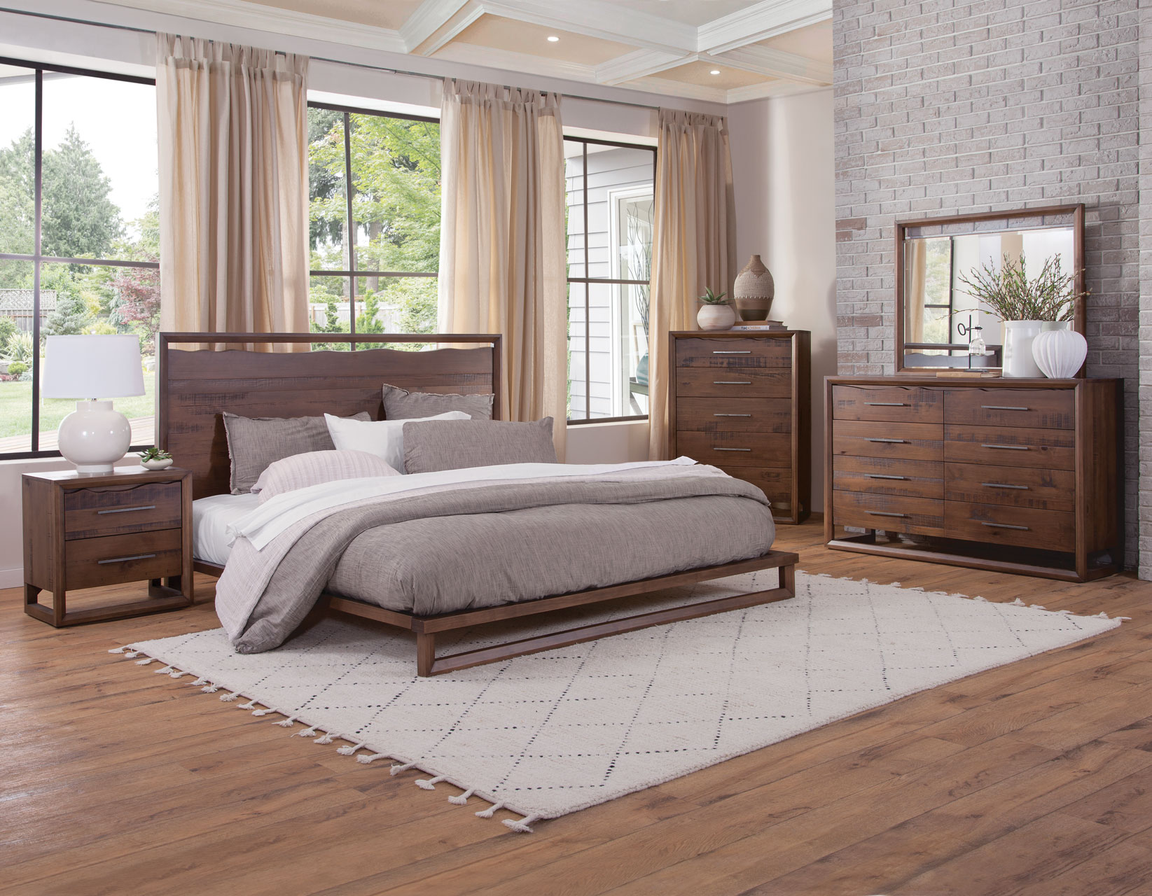 Lofton King Bedroom Group by Steve Silver at Northeast Factory Direct