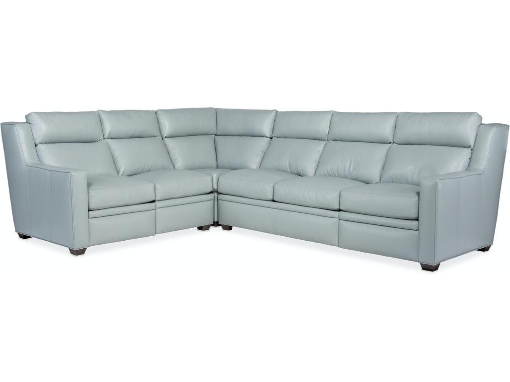 3-Piece Reclining Sectional Sofa w/ LAF Sofa