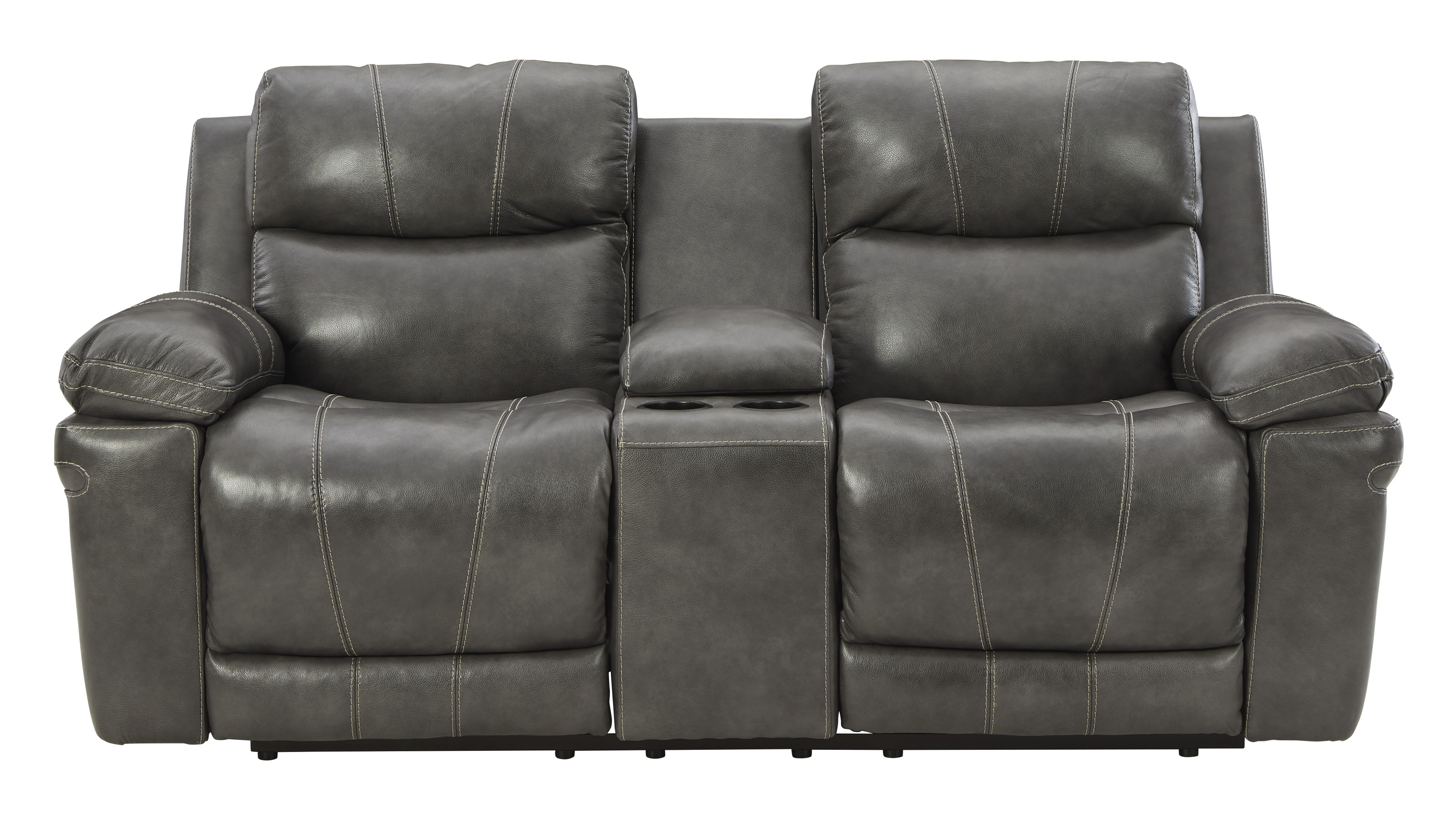 Edmar Reclining Loveseats by Signature Design by Ashley at Dream Home Interiors