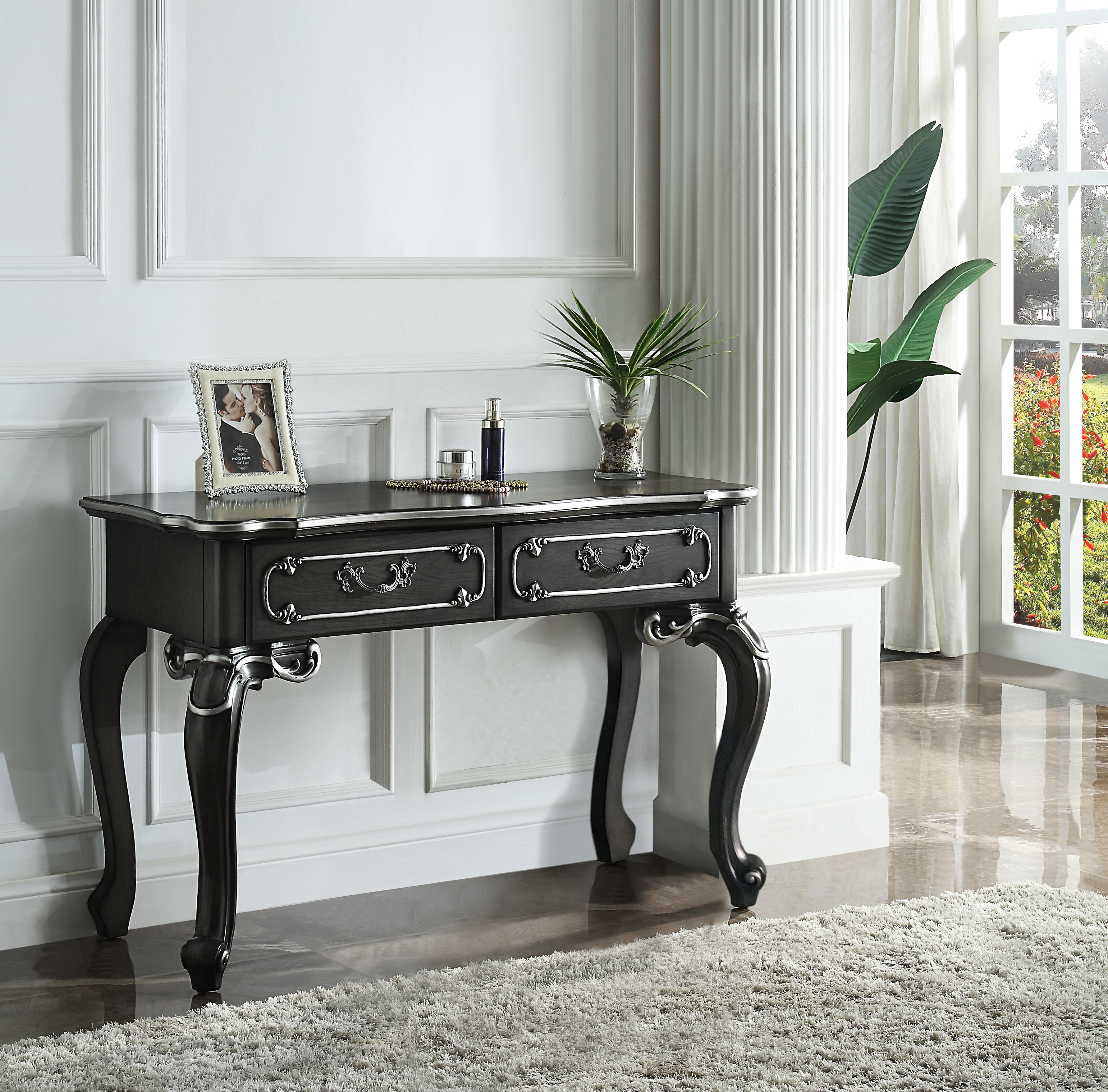 House Delphine Vanity Desk by Acme Furniture at Nassau Furniture and Mattress