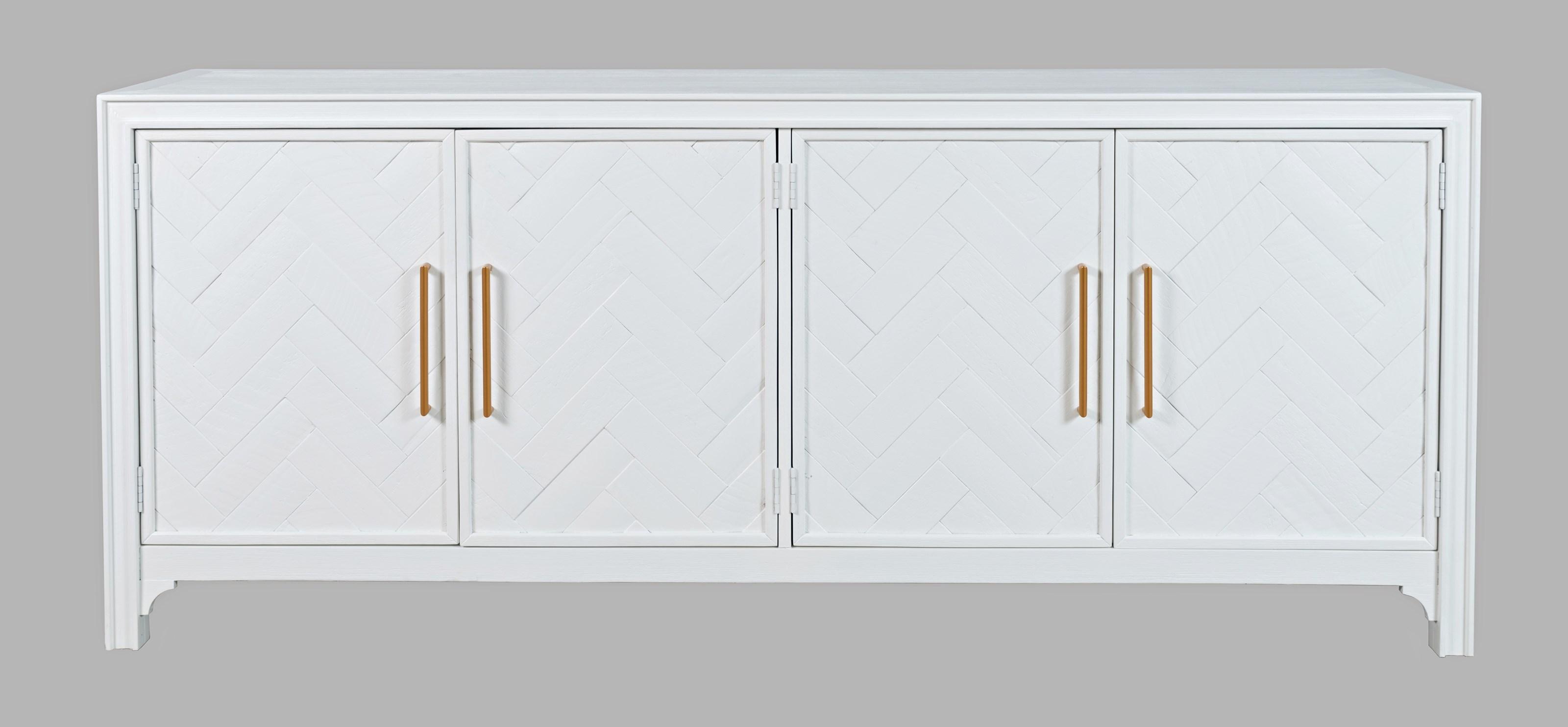 Gramercy 4 Door Accent Cabinet by Jofran at Mueller Furniture