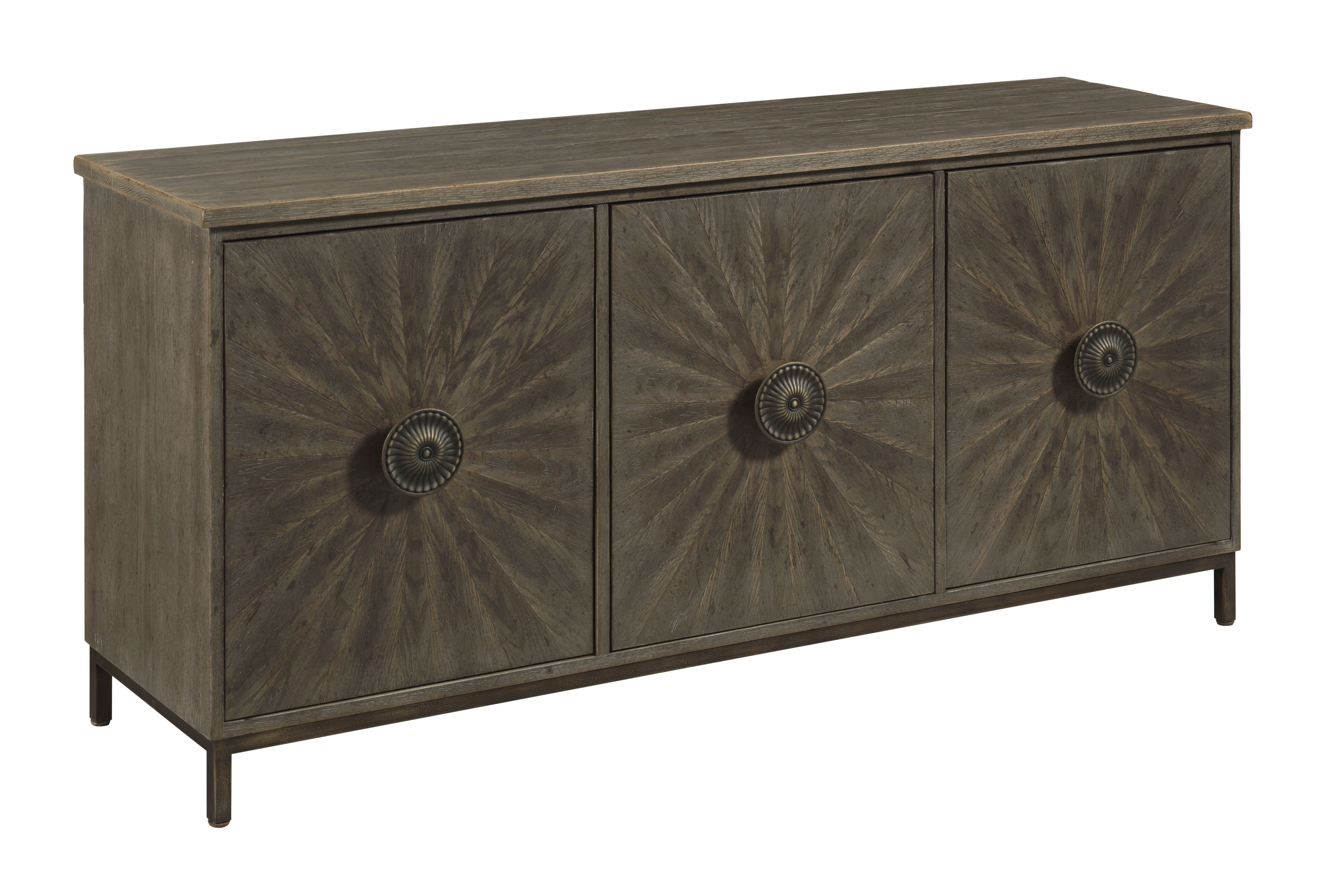 Emporium Entertainment Console by Hammary at Crowley Furniture & Mattress